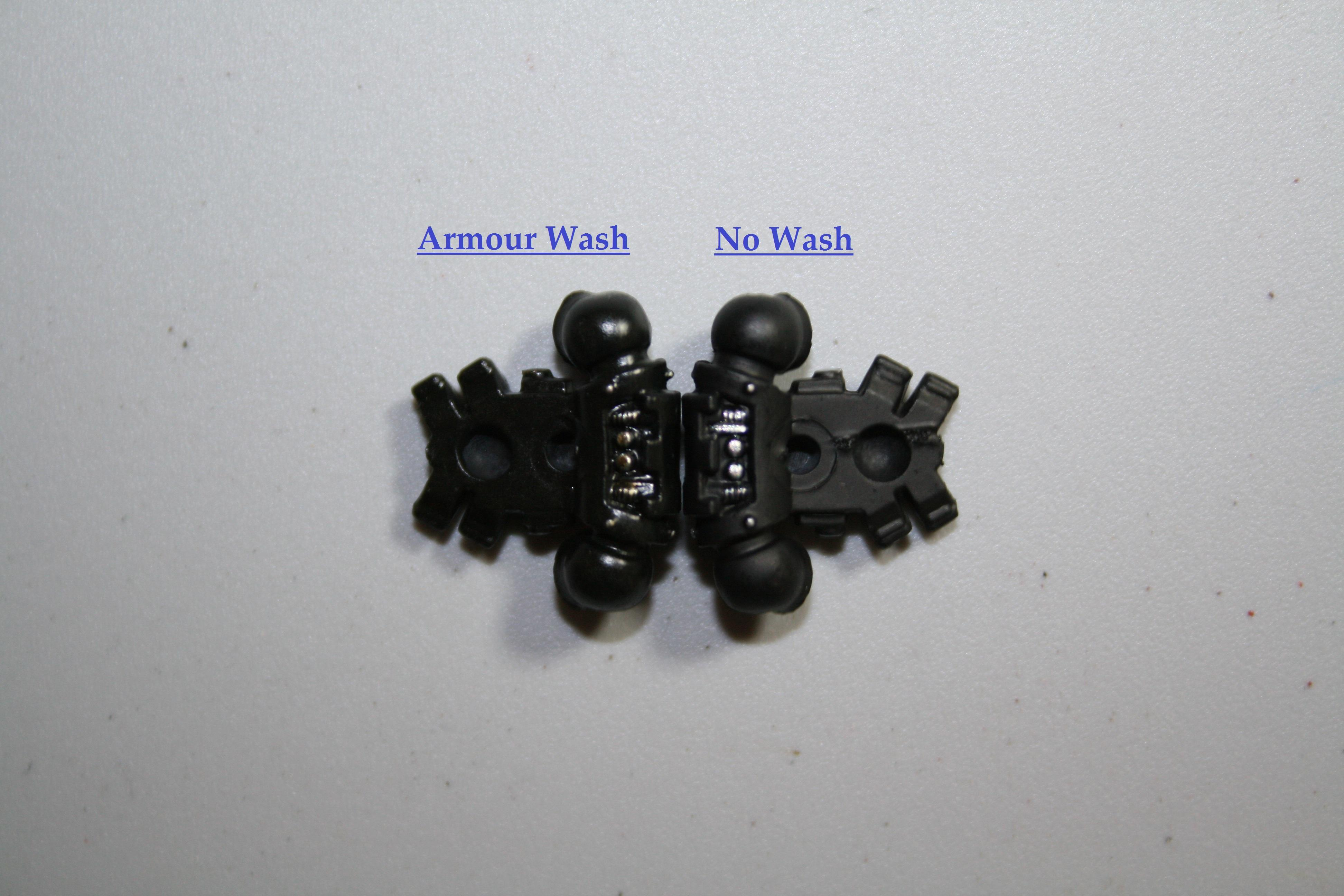 Armour Wash Back