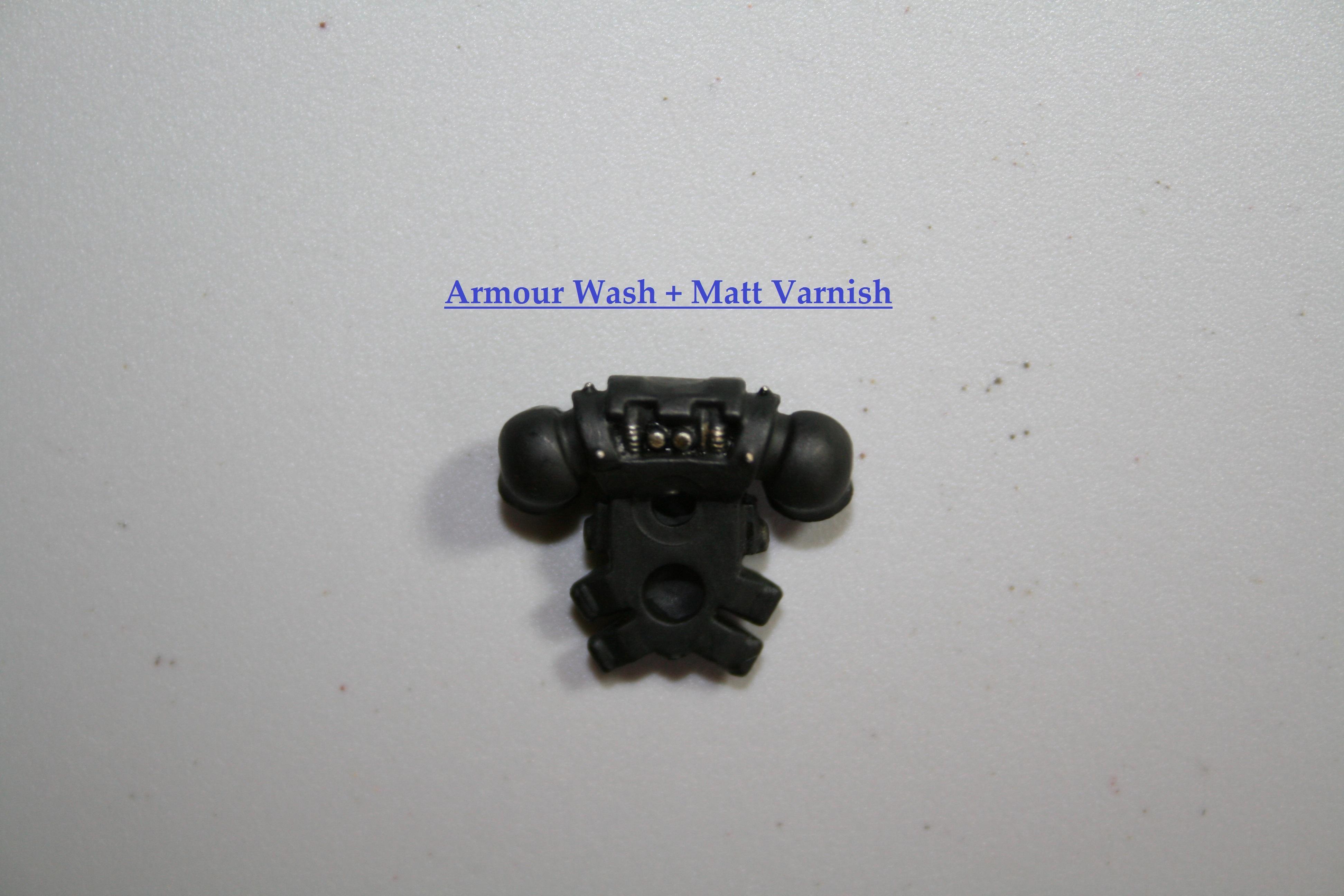 Armour Wash + Matt Varnish Back