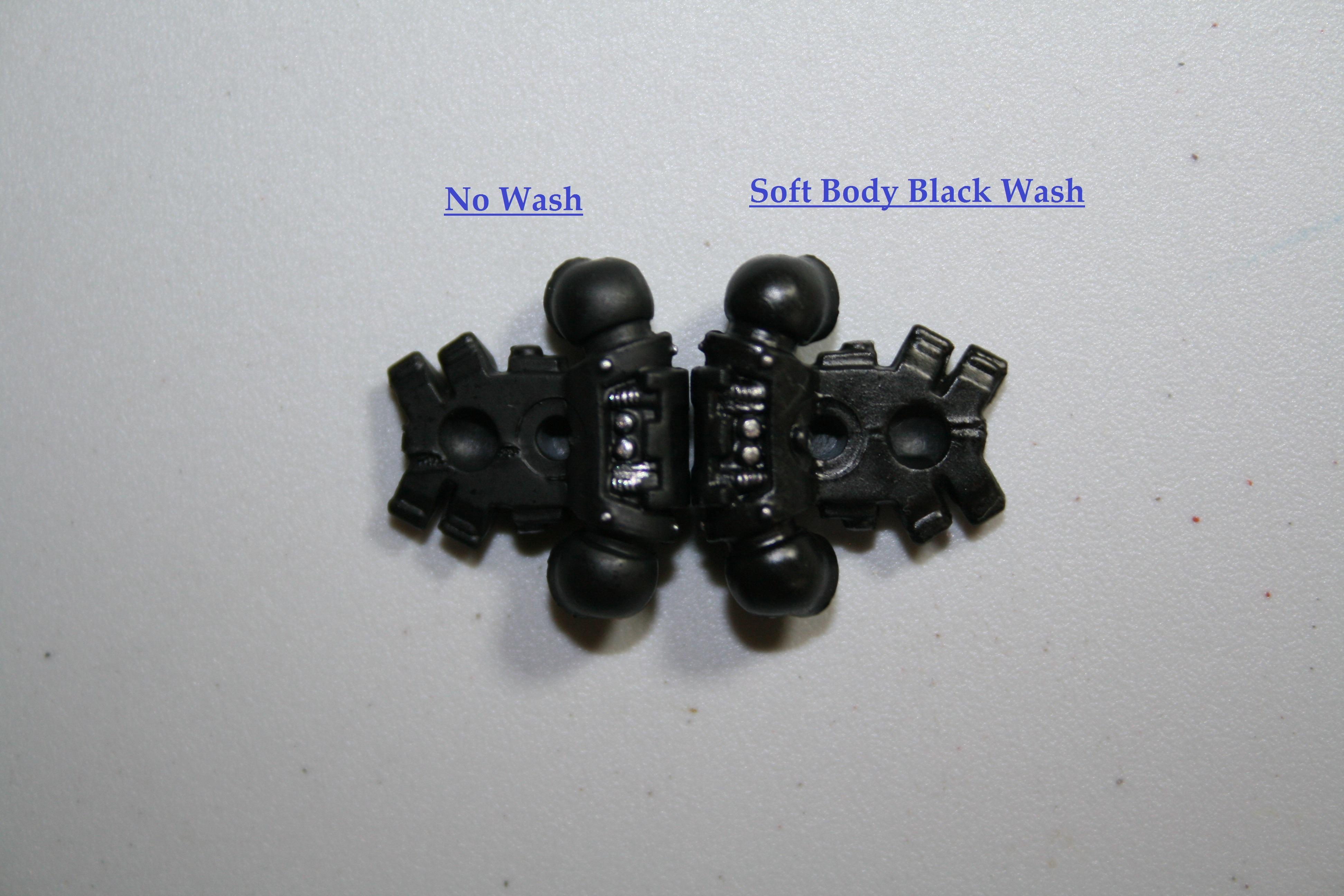 Soft Black Wash Back