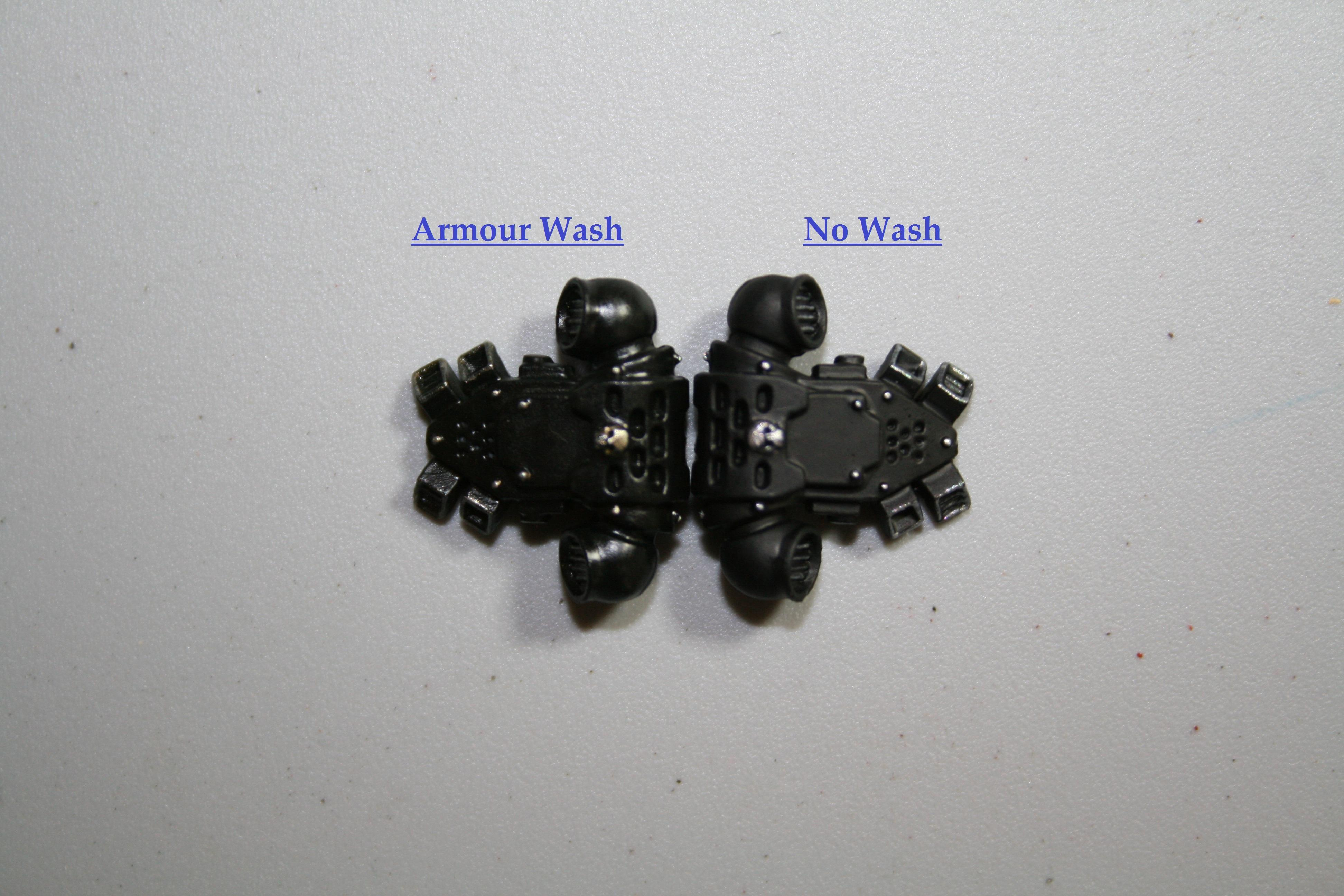 Armour Wash Front