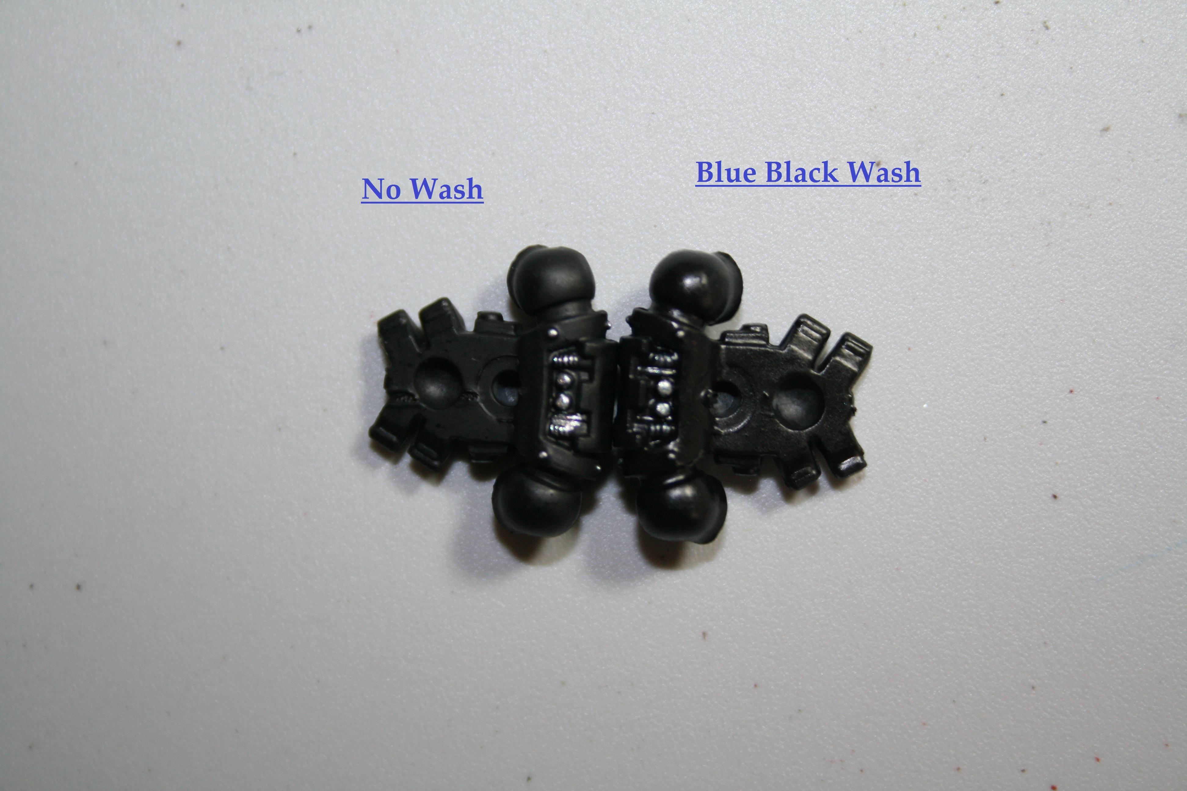 Blue Black Wash Back