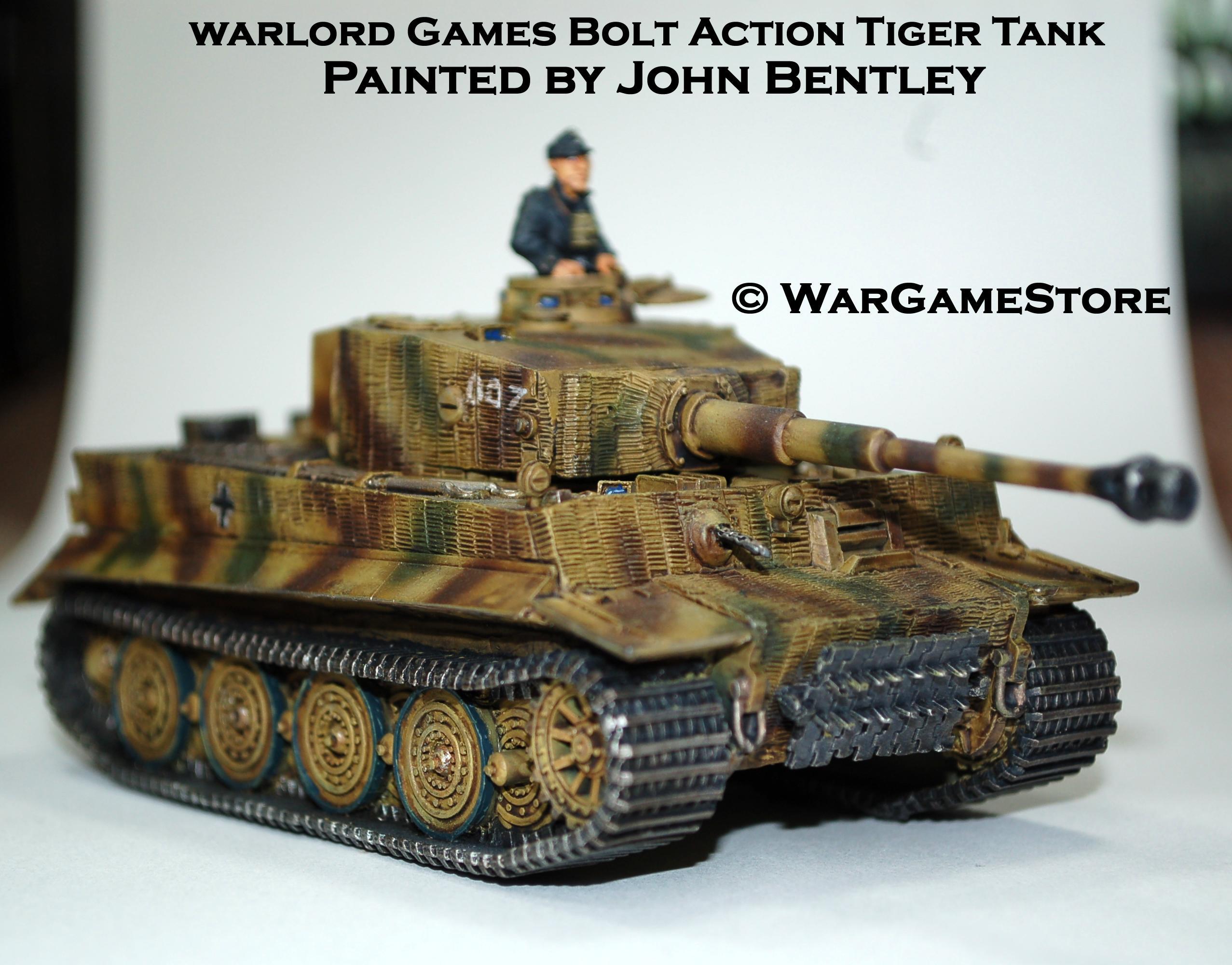 Tiger, Wargamestore, Warlord, Whitmann