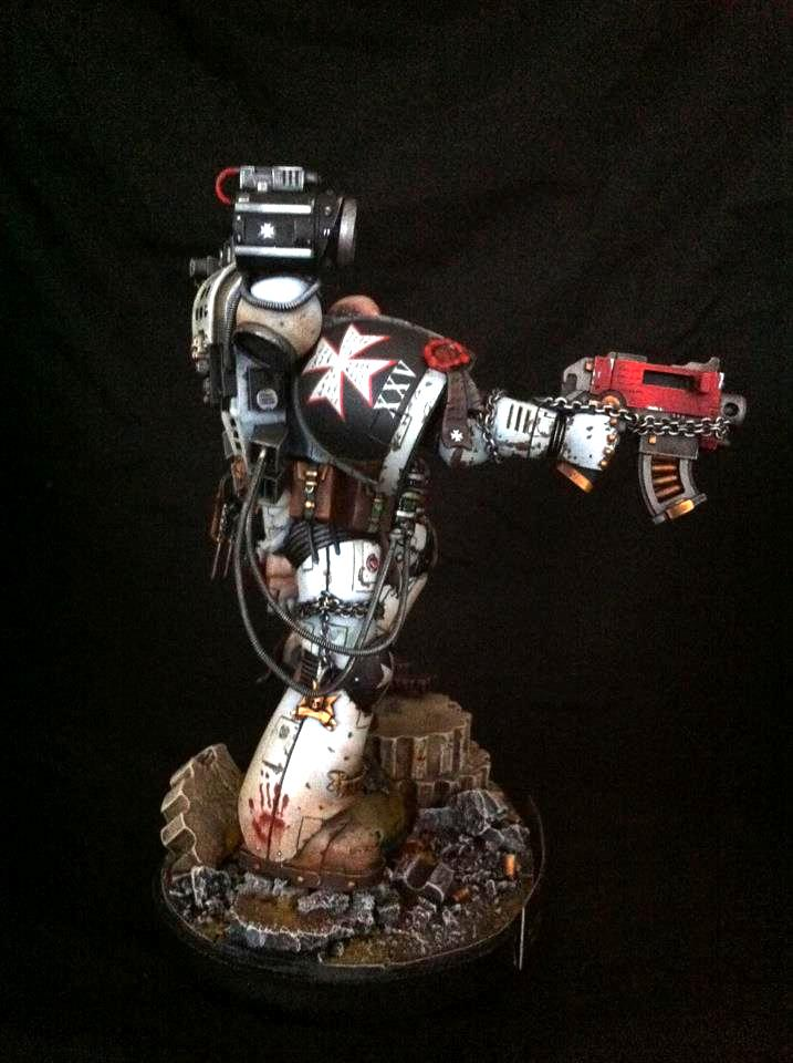 Apothecary, Conversion, Forge World, Golden Demon, Large Scale, Space Marines