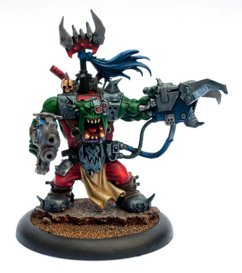 Assault On Black Reach, Orks, Warboss, Warhammer 40,000