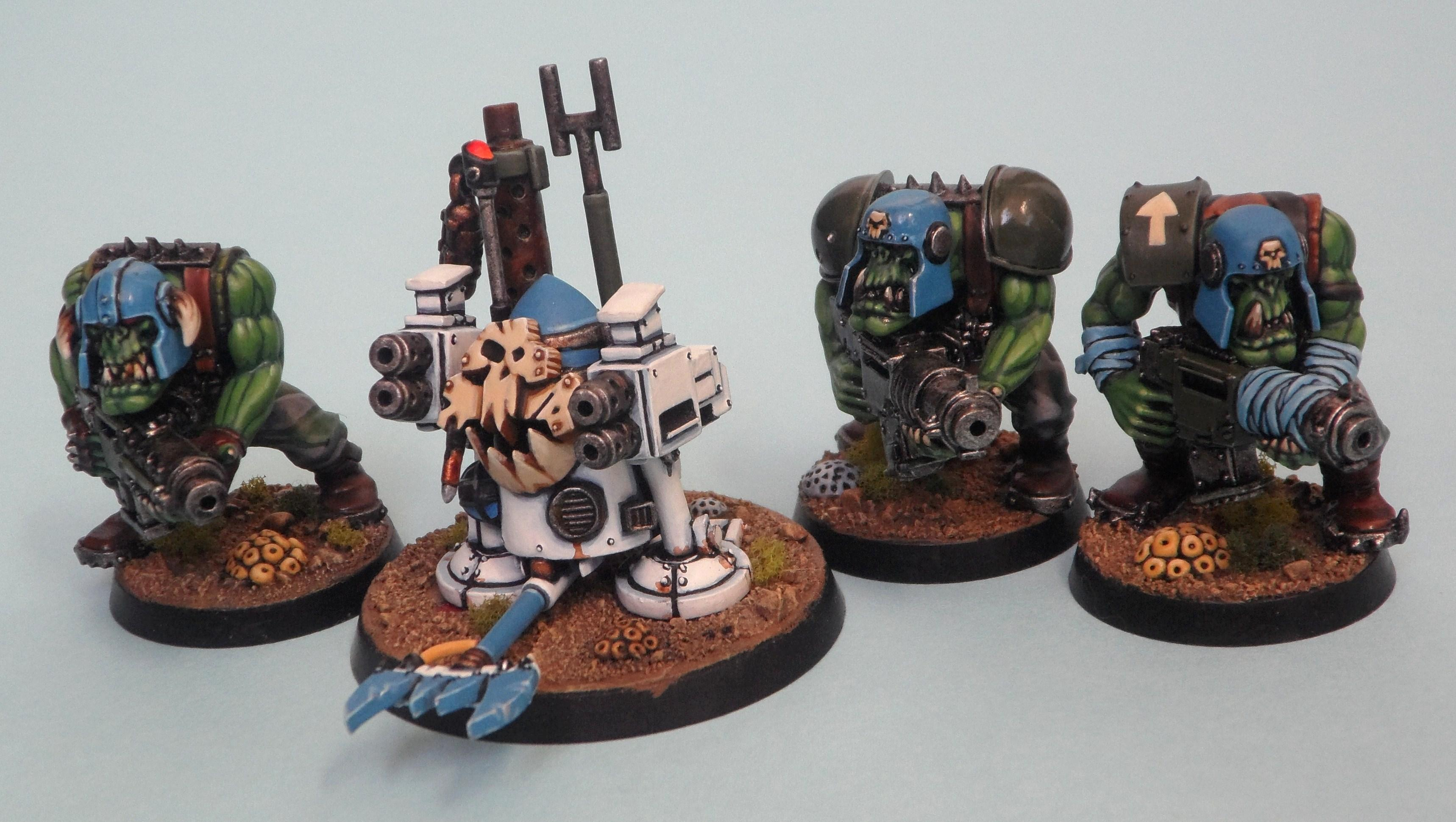 Blood Axe, Orks, R2, Robot, Runtbot, Runtherd, Shepherd Of His People, Tinboy, Warhammer 40,000