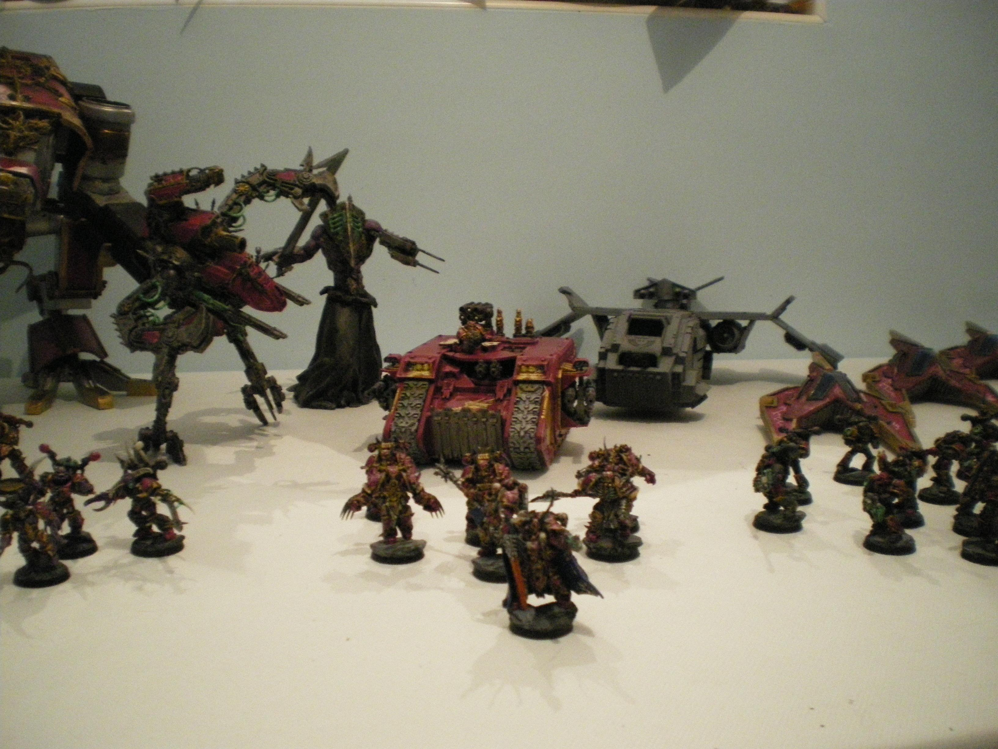 Army, Chaos, Chaos Space Marines, Emperor's Children, Land Raider