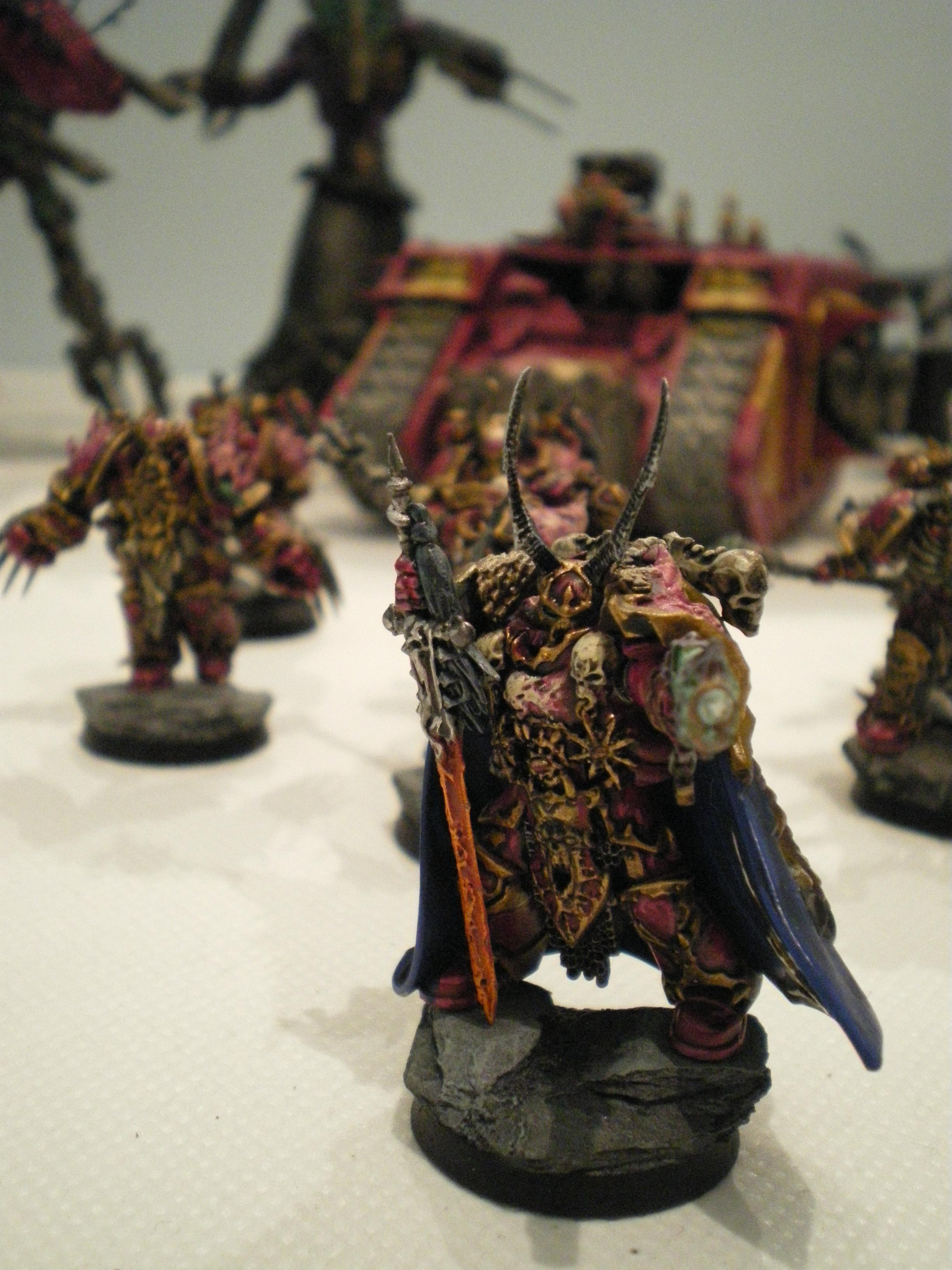 Chaos, Chaos Space Marines, Emperor's Children, Space Marines