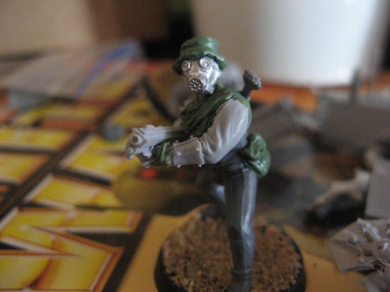waster with combat shotgun