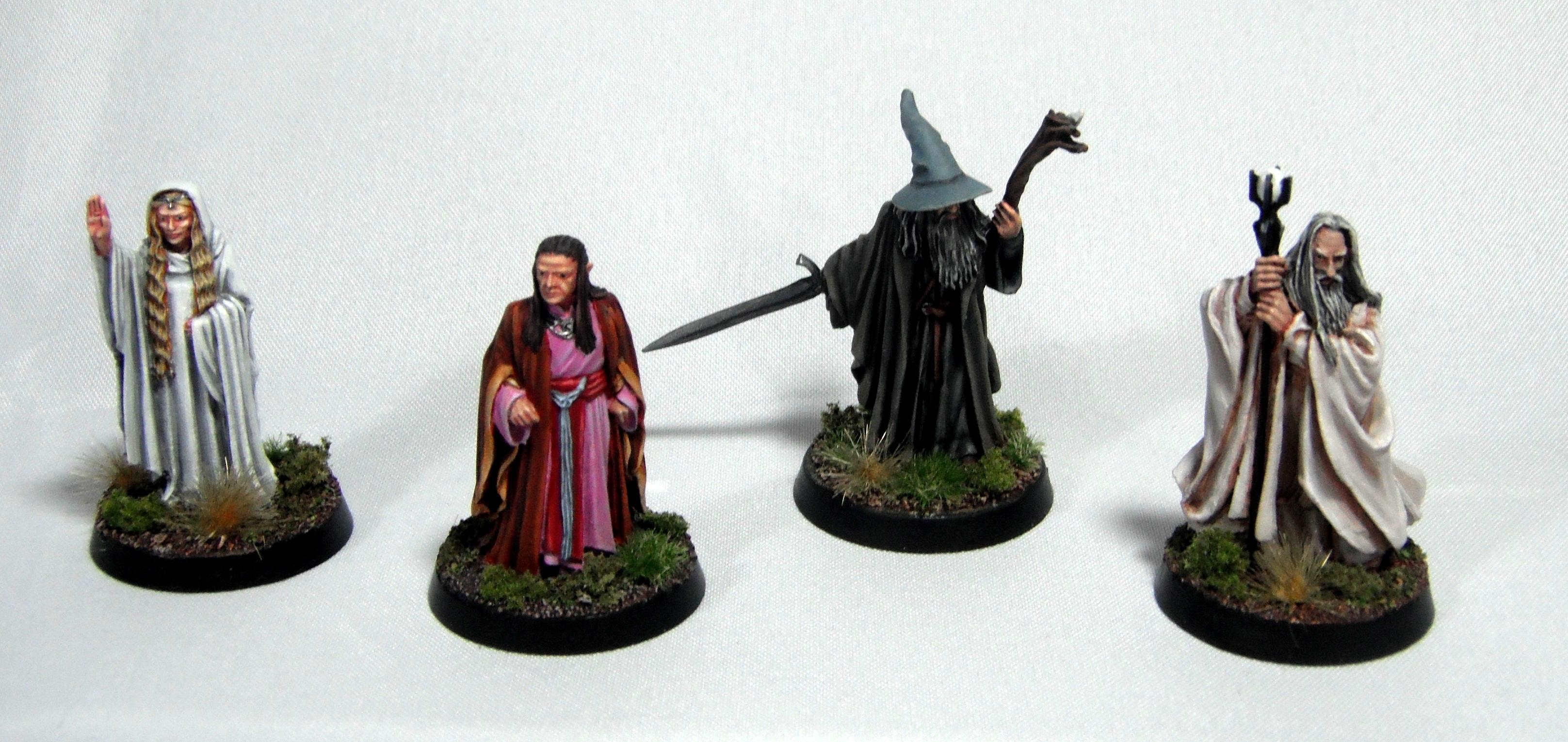 Elrond, Galadriel, Gandald, Lord Of The Rings, Saruman, The Hobbit, White Council
