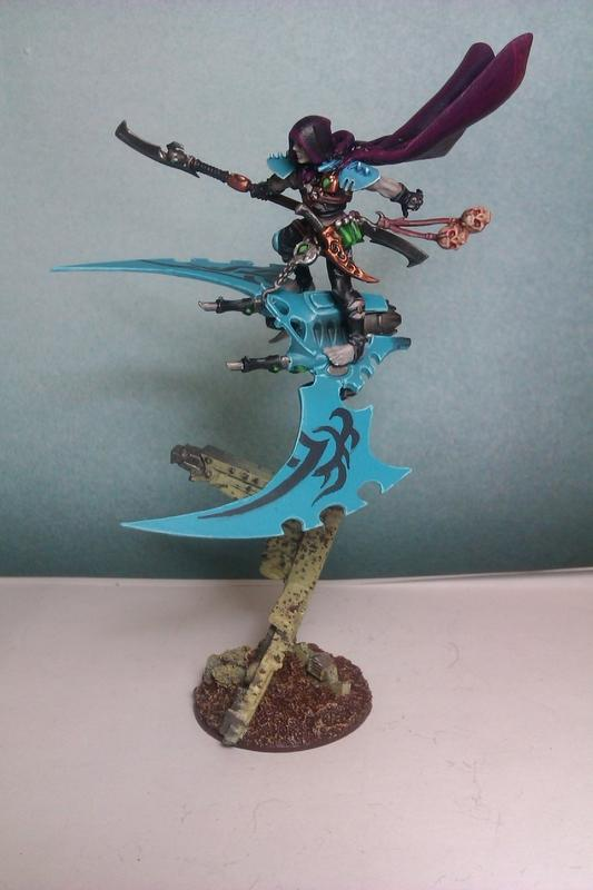 40.000, Baron Sathonyx, Dark Eldar, Warhammer 40,000, Warhammer Fantasy