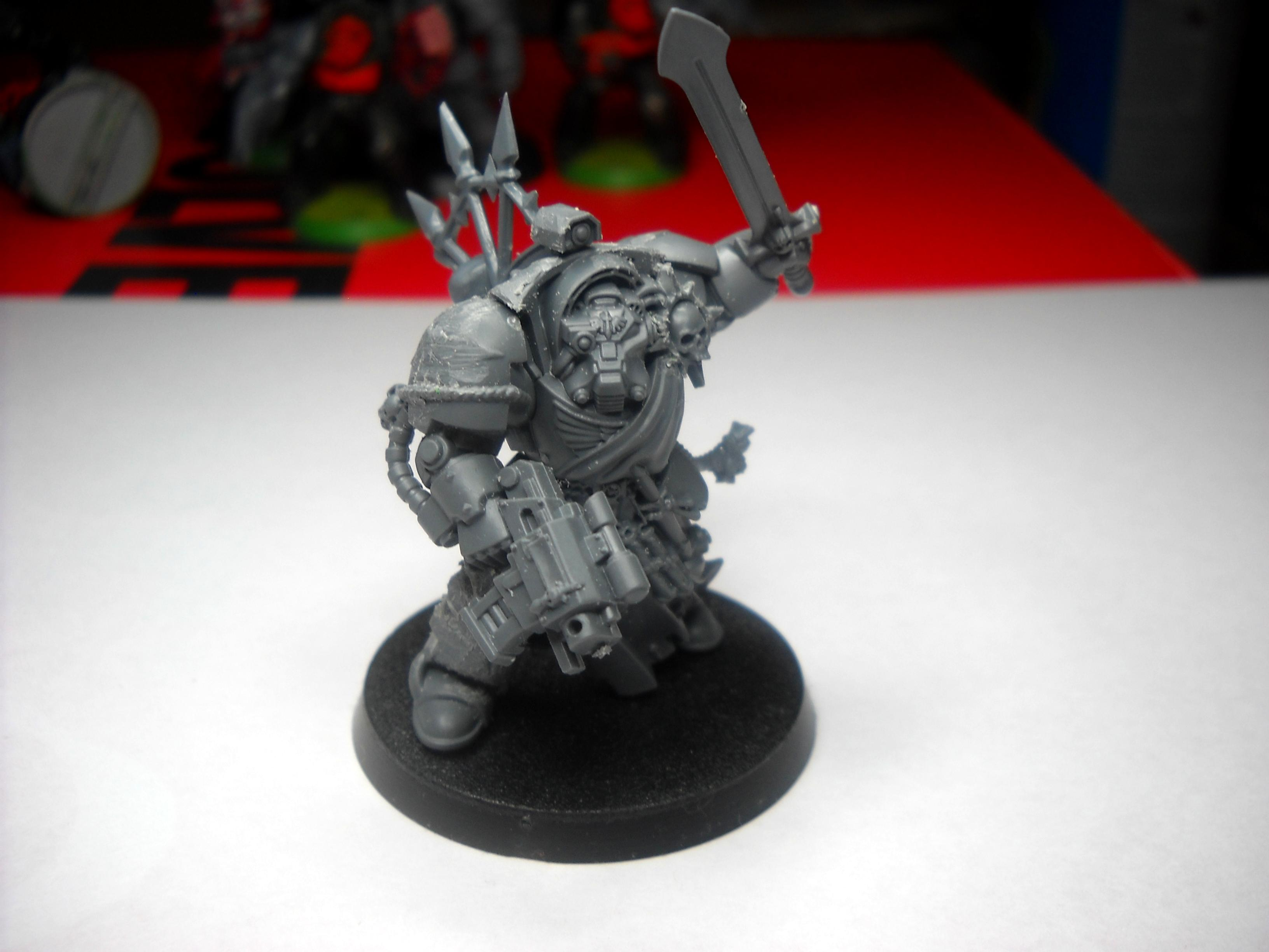 Terminator Armor, Work In Progress