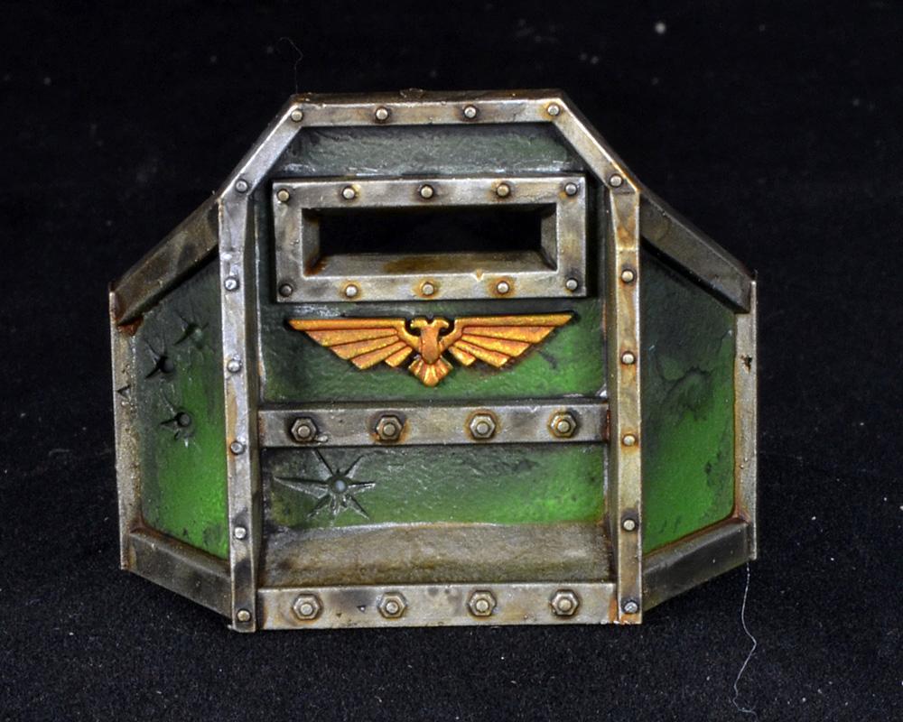 Aegis Defense Line, Mantis Warrior, Space Marines, Warhammer 40,000