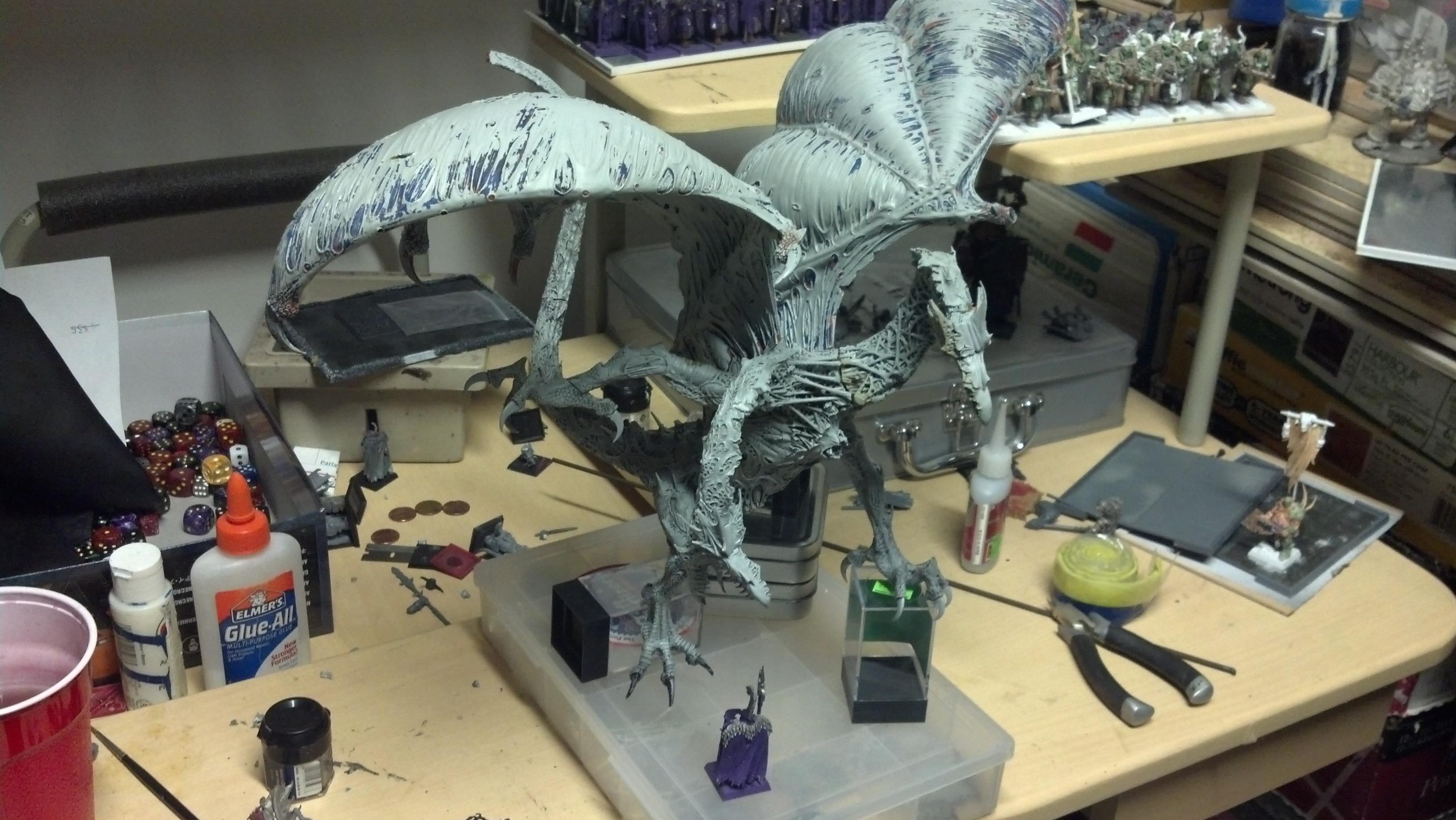 Chaos, Dragon, Work In Progress
