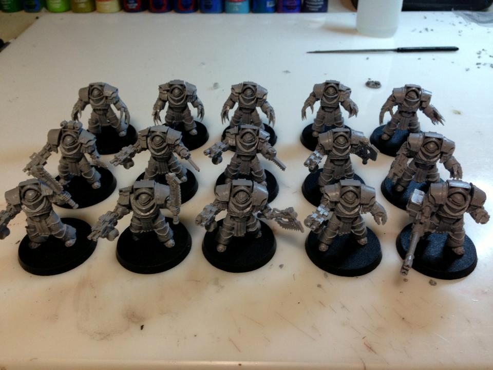 30k, Cataphractii Terminators, Forge World, Legions, Space Marines