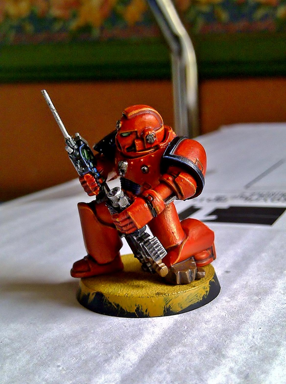 Blood Angels, Conversion, Space Marines, Warhammer 40,000, Work In Progress