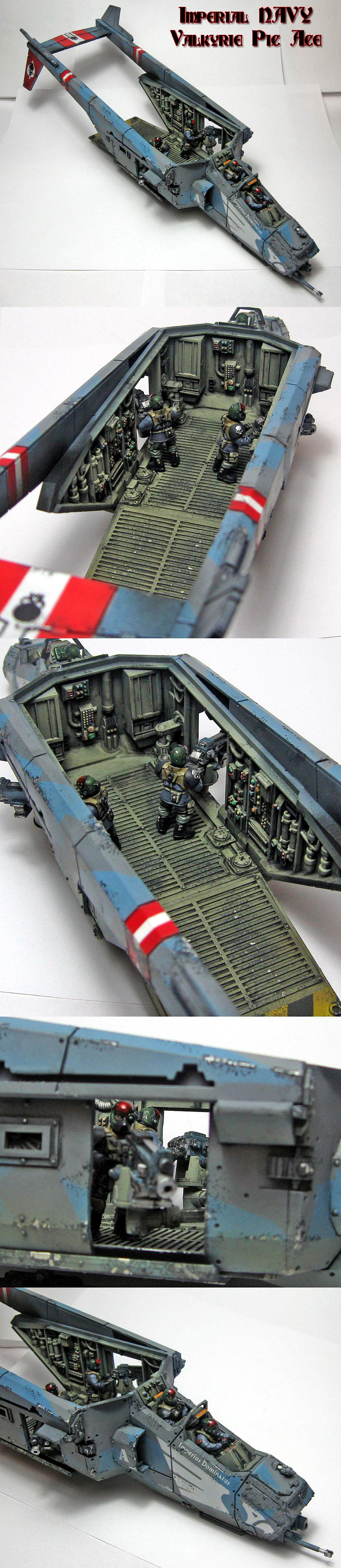 Cadians, Flyer, Imperial Guard, Valkyrie