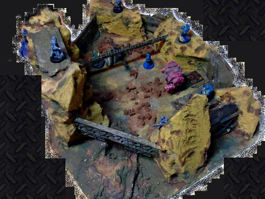 Conversion, Custom, Do-it-yourself, Fortress, Game Table, Scrab