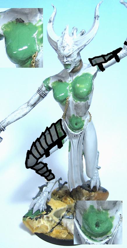Armor, Concept, Greater Daemon, Obscuras