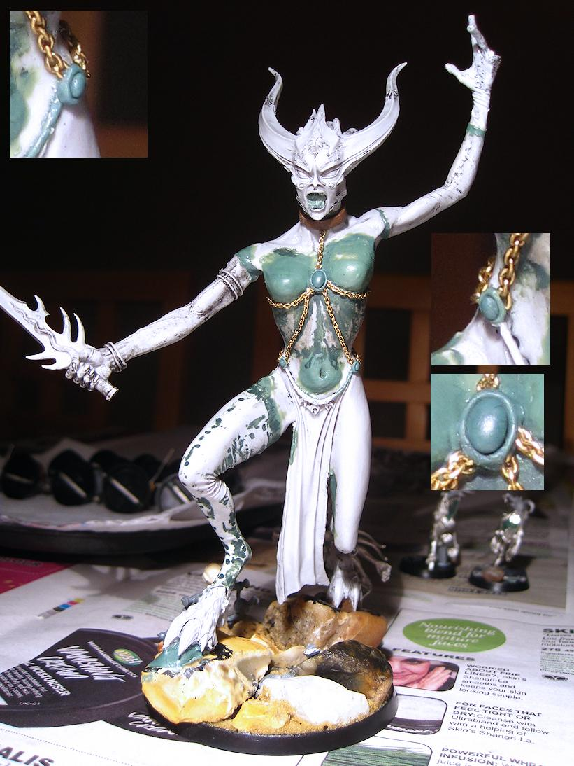Conversion, Forgeworld Keeper Of Secrets, Greater Daemon, Greenstuff, Obscuras