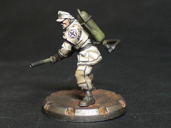 Axis, Dust, Flamer, Rust