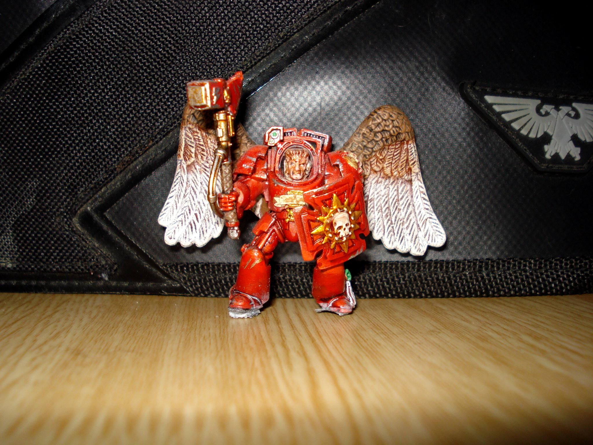Barmy Bakers Miniatures, Conversion, Space Marines, Terminator Armor, Warhammer 40,000