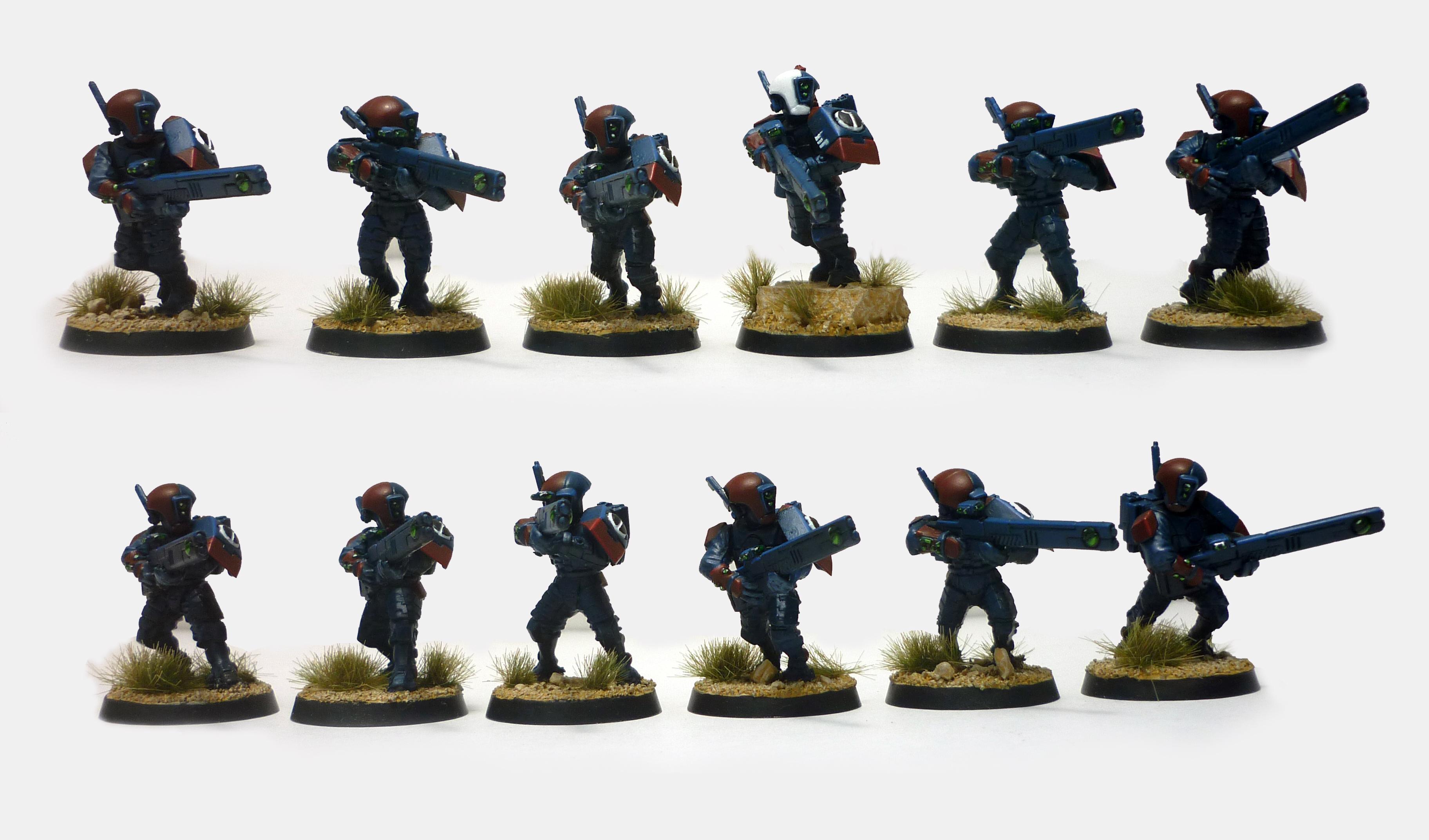 Tau Firewarrior Squad