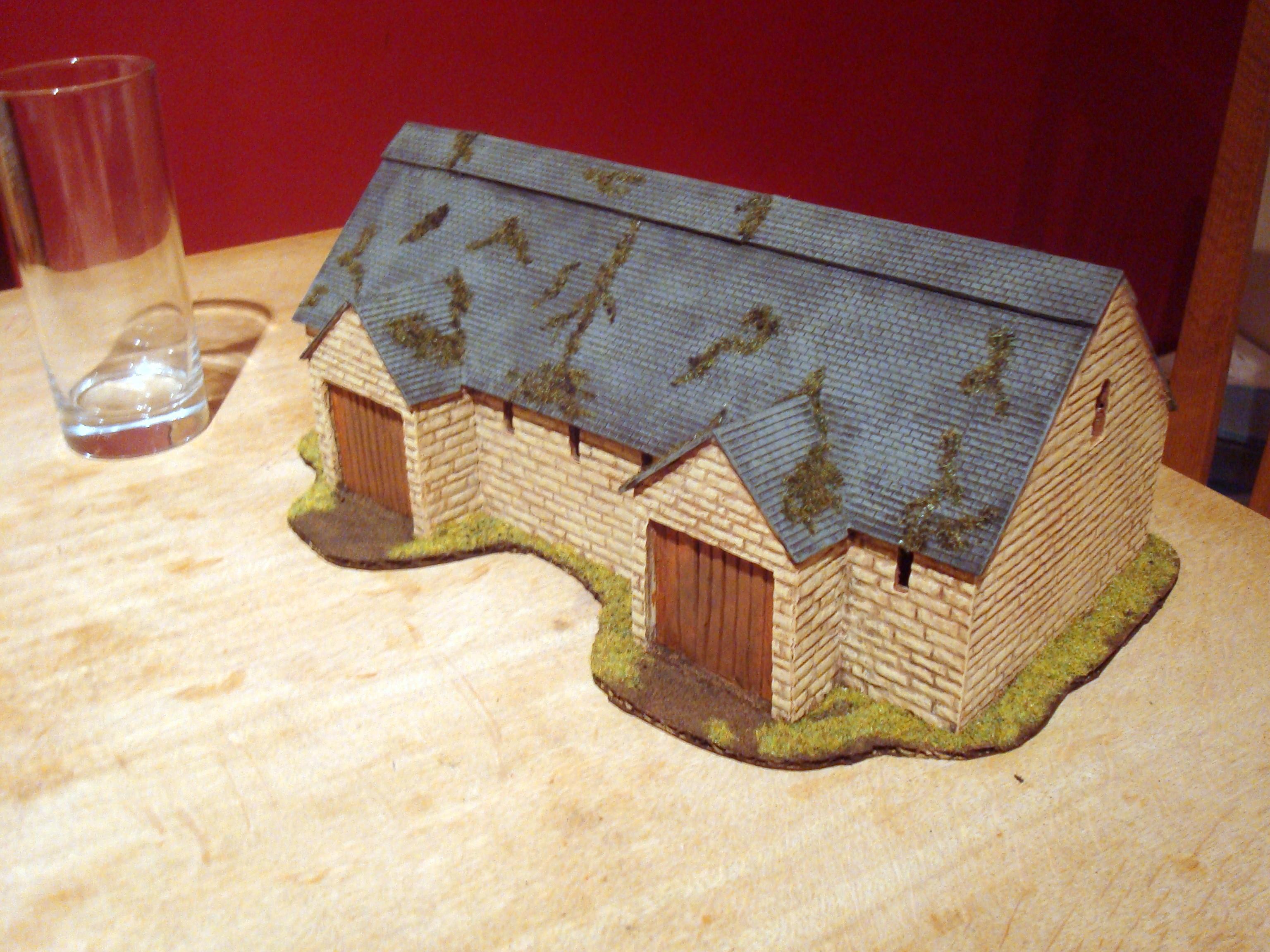 Barn, Historical, Norman, Terrain