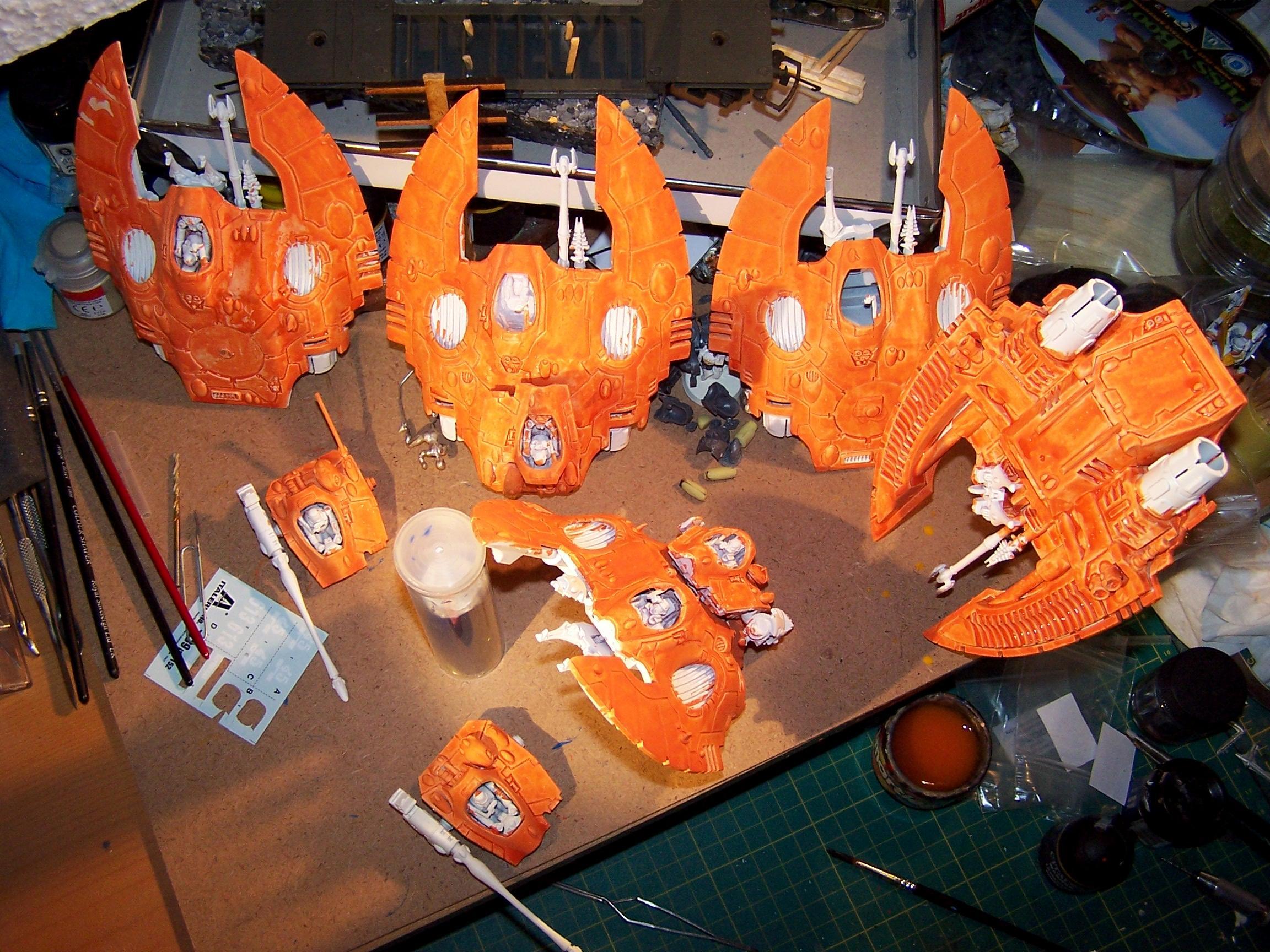 Craftworld Lugganath, Eldar, Falcon, Lugganath, Silvermk2, Work In Progress