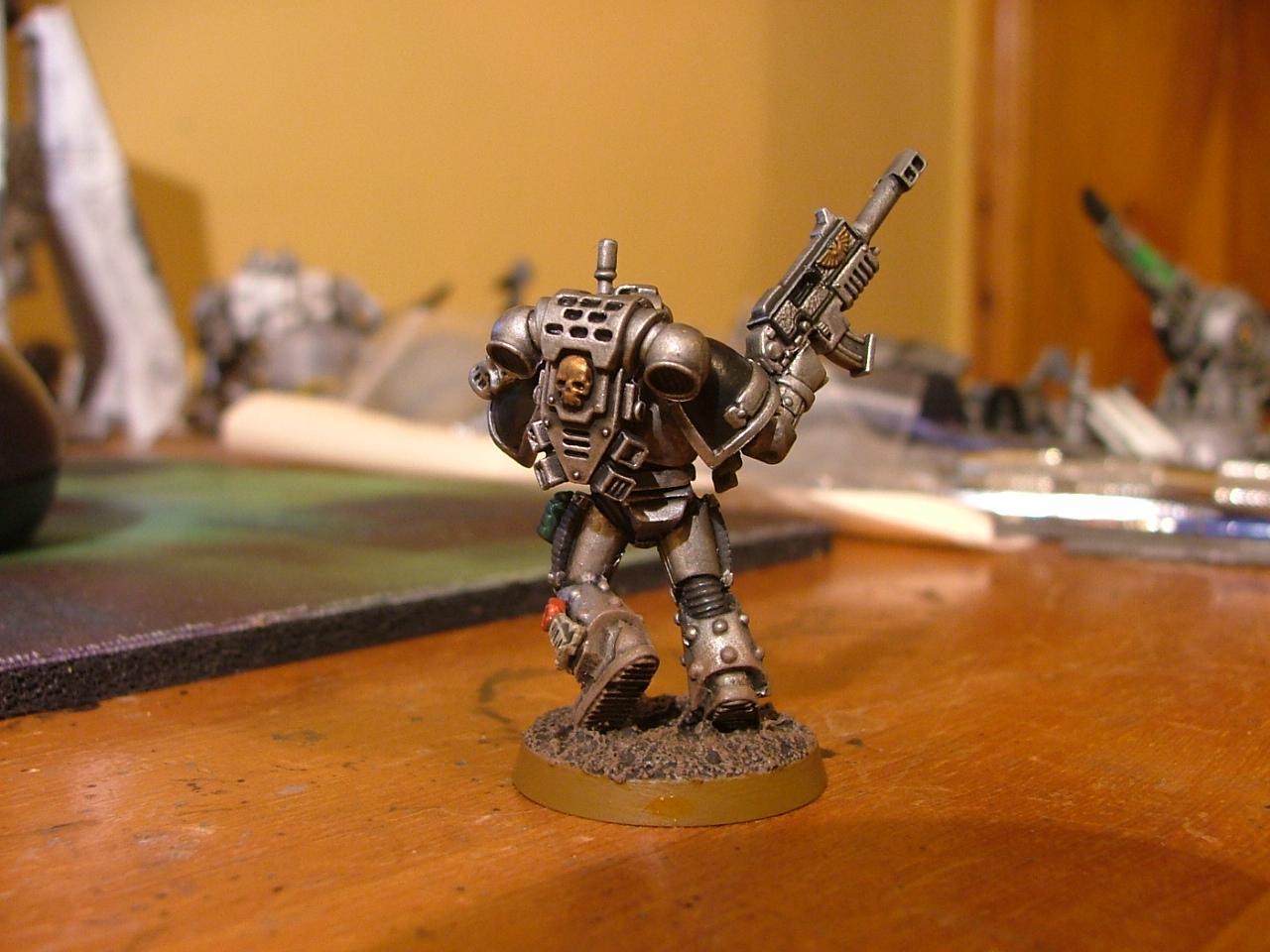 Conversion, Silver Skull, Silver Skulls, Space Marines, Warhammer 40,000