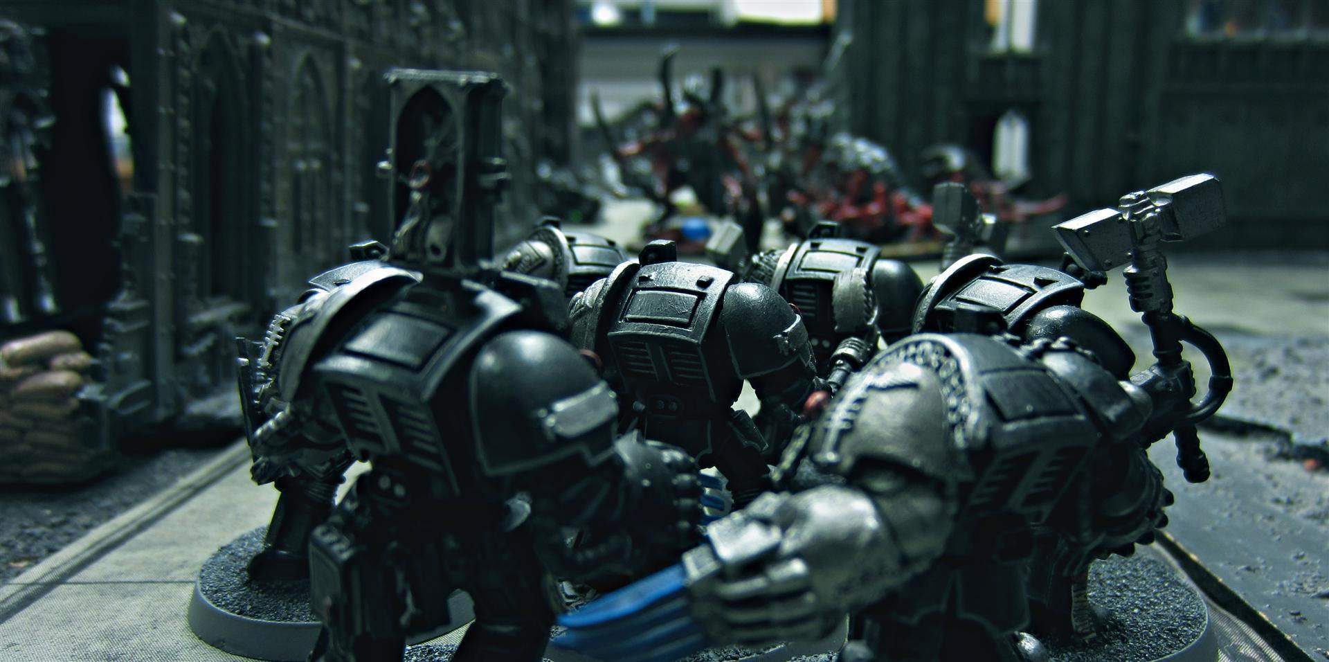 Alien Hunter, Alien Hunters, Black Shields, Blackshields, Death Watch, Deathwatch, Inquisition, Inquisitorial, Kill Team, Killteam, Lightning Claw, Space Marines, Storm Shield, Terminator Armor, Thunder Hammer, Warhammer 40,000