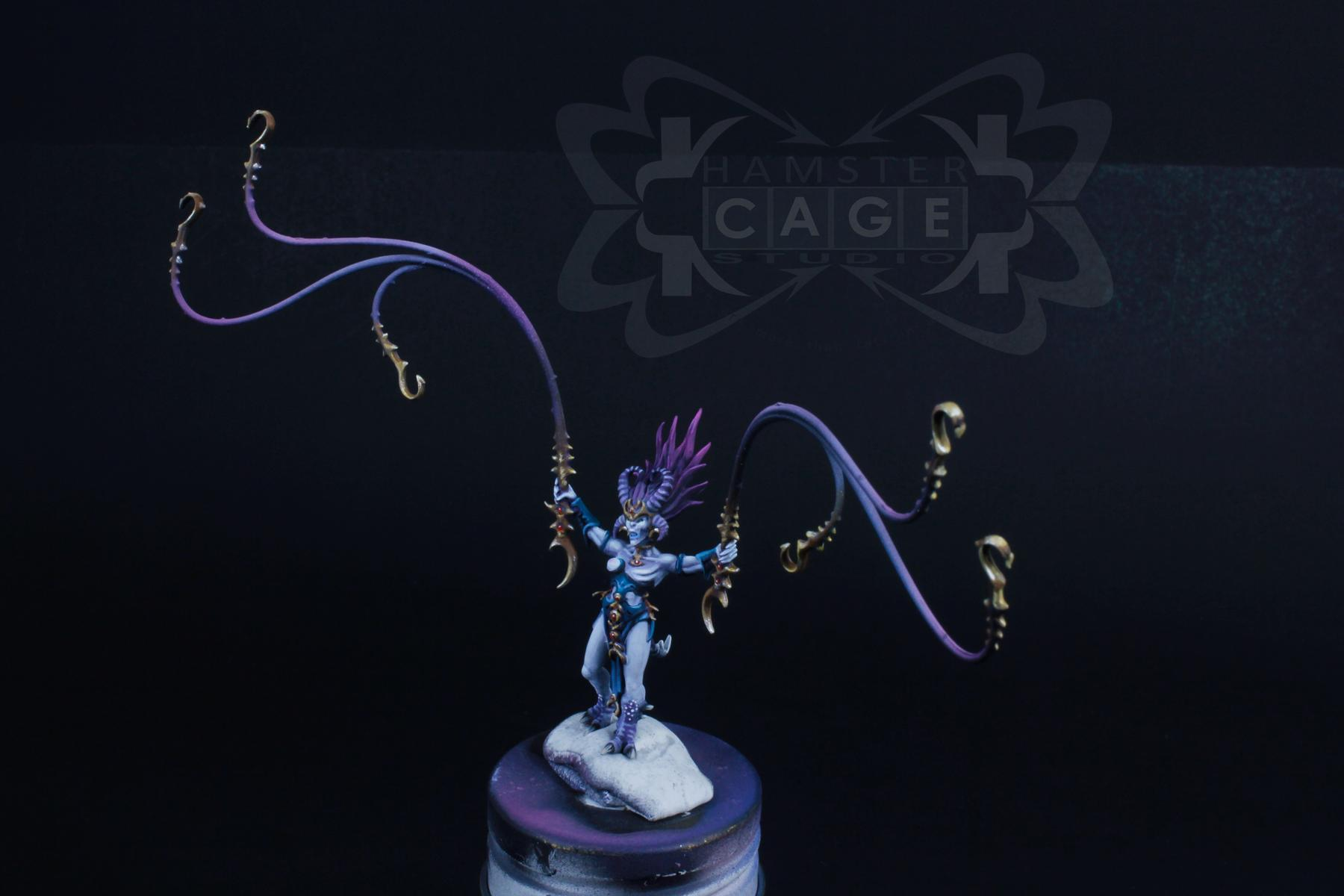 Chariot, Daemons, Demon Engine, Exalted, Exalted Chariot, Slaanesh, Slaanesh Chariot