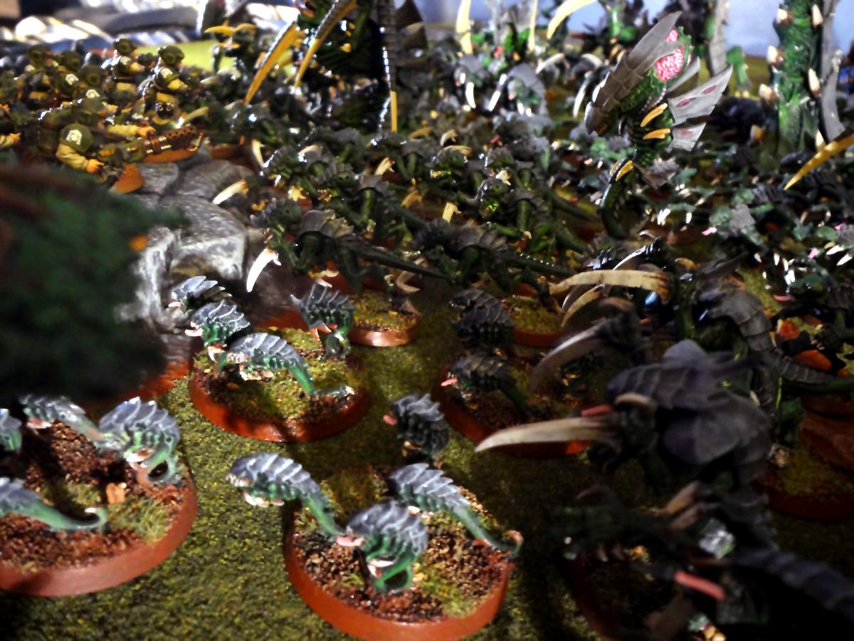 Campaign, Imperial Guard, Ripper Swarms, Space Marines, Tyranids, Warhammer 40,000