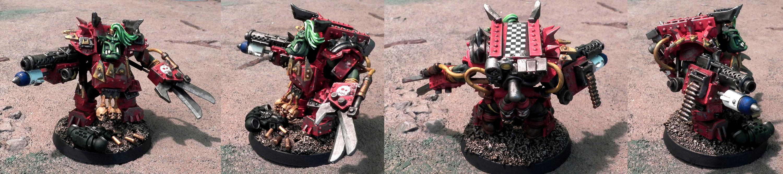Mega-armor, Nob, Orks, Ouze, Scratch Build, Warhammer 40,000