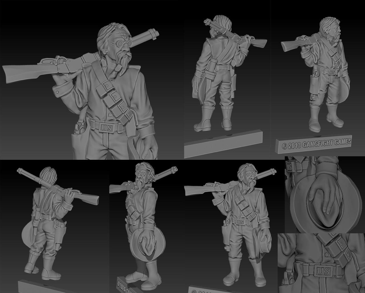 Wilde's Rangers - Corporal Thompson WIP