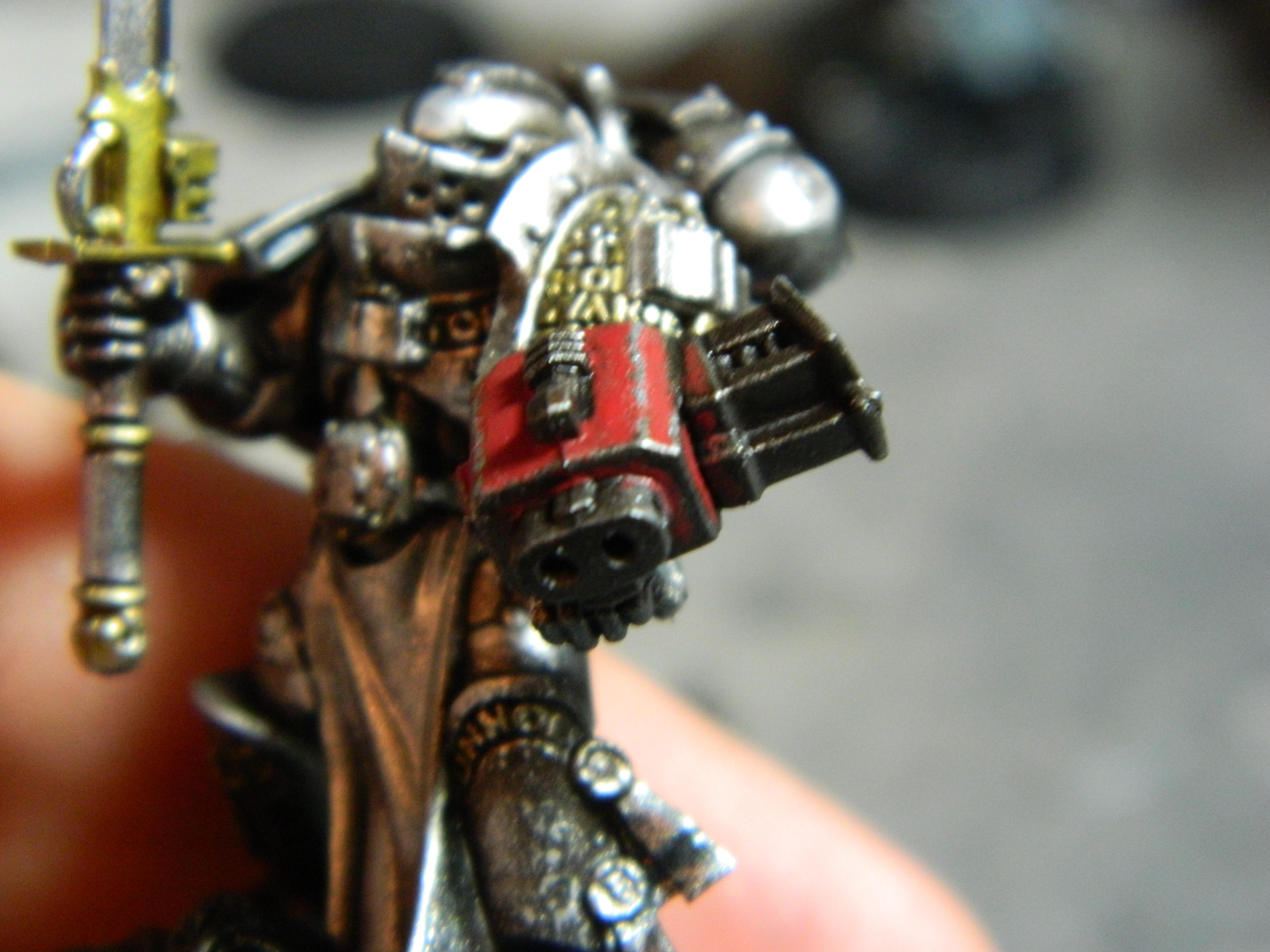 Damage, Force Weapon, Gk, Gray Knight, Grey Knights, Metal, Object Source Lighting, Paint Chipping, Psybolt, Weathered