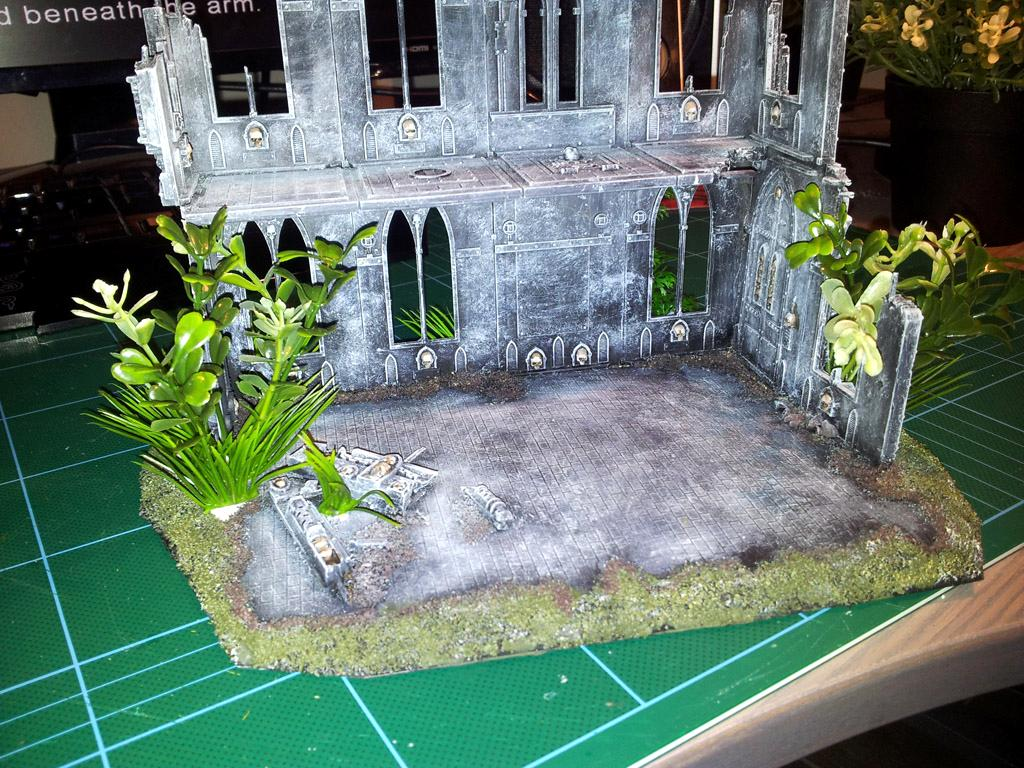 Cathedral, Imperial, Jungle, Terrain