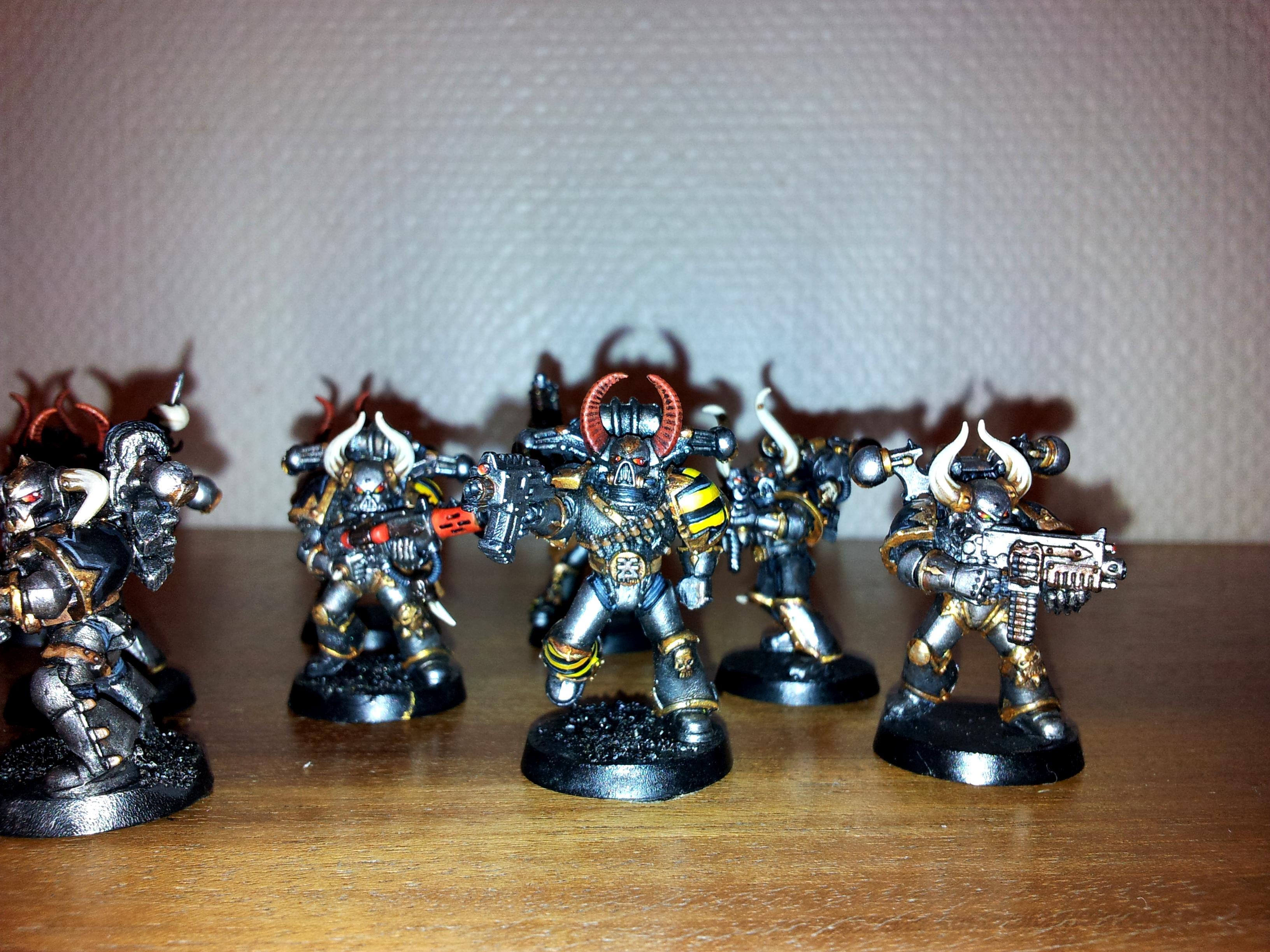 Iron Warriors, Iron Warriors close up
