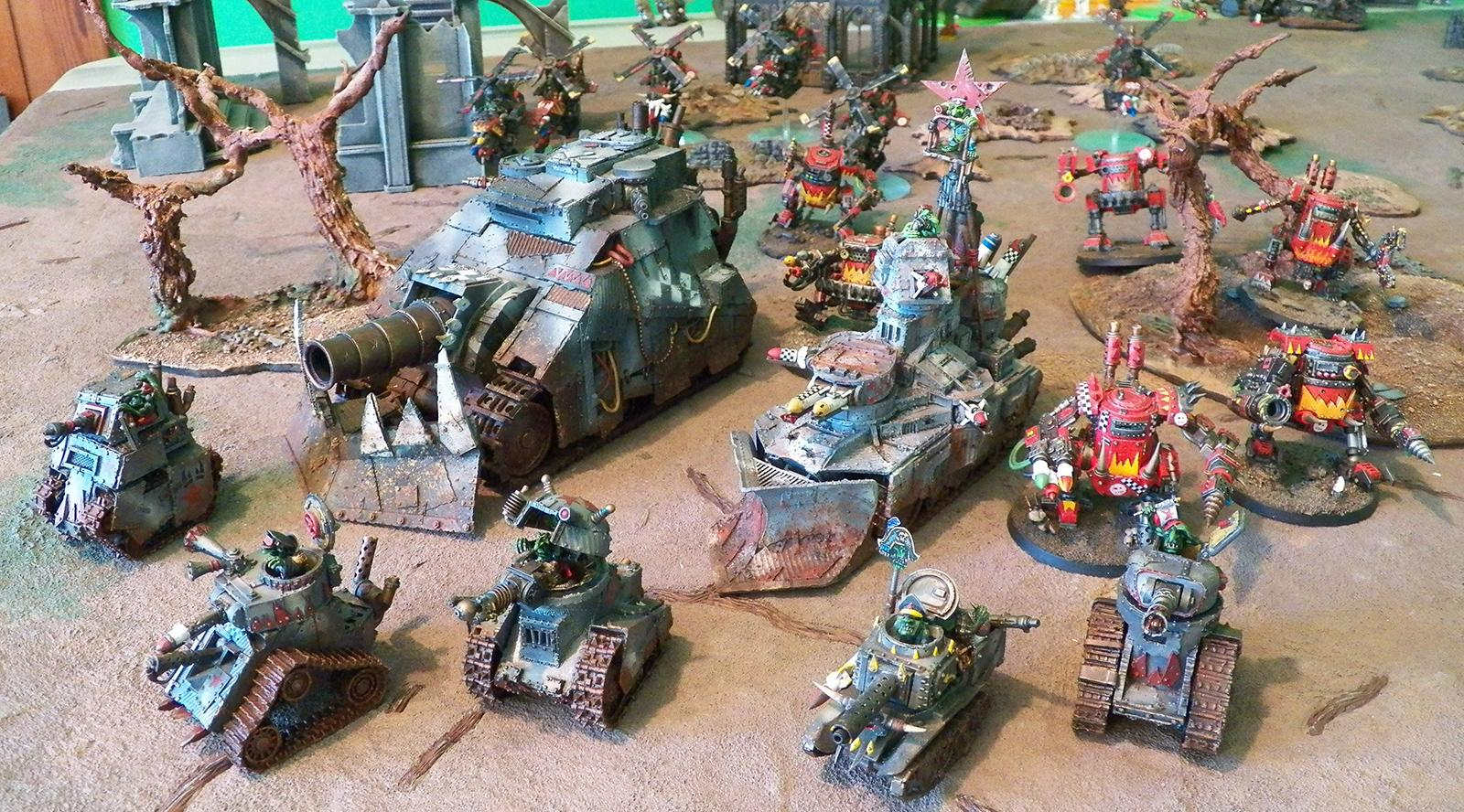 Conversion, Forge World, Grot Revolution, Grots, Orks, Ouze, Revolution, Salt Weathering, Warhammer 40,000