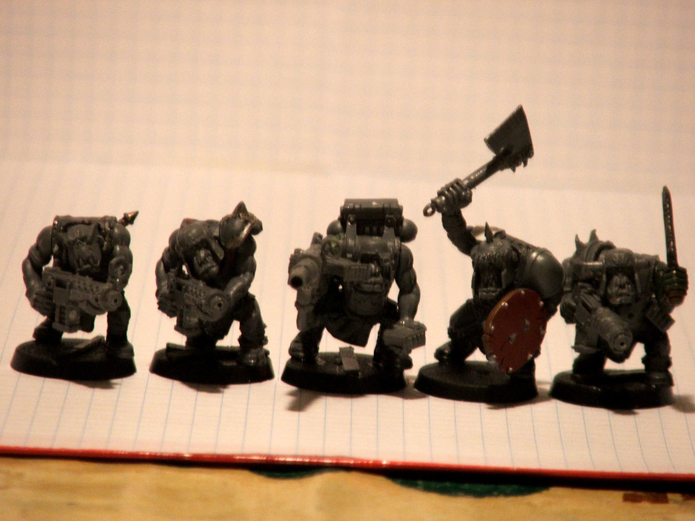 Ard Boyz, Ork Boyz, Ork Wip, Orks, Waaaghhh