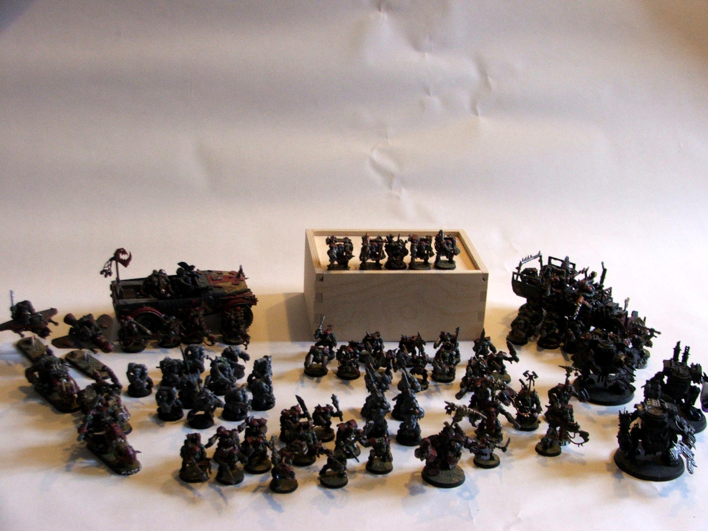 Ork Army, Ork Wip, Orks, Waaaghhh