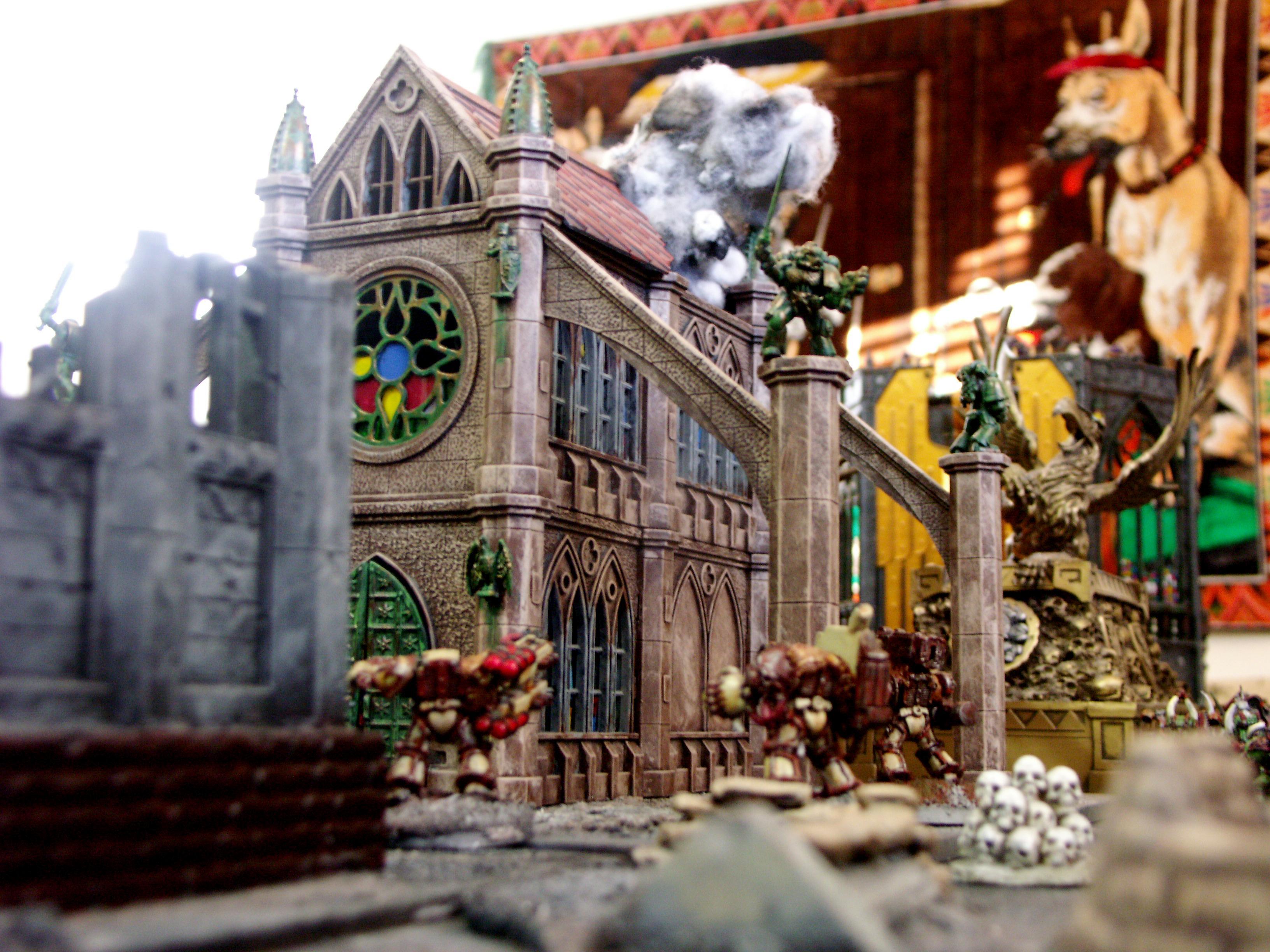 Cathedral, Pegasus, Temple, Terrain