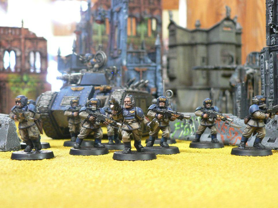 Imperial Guard, Infantry Squad