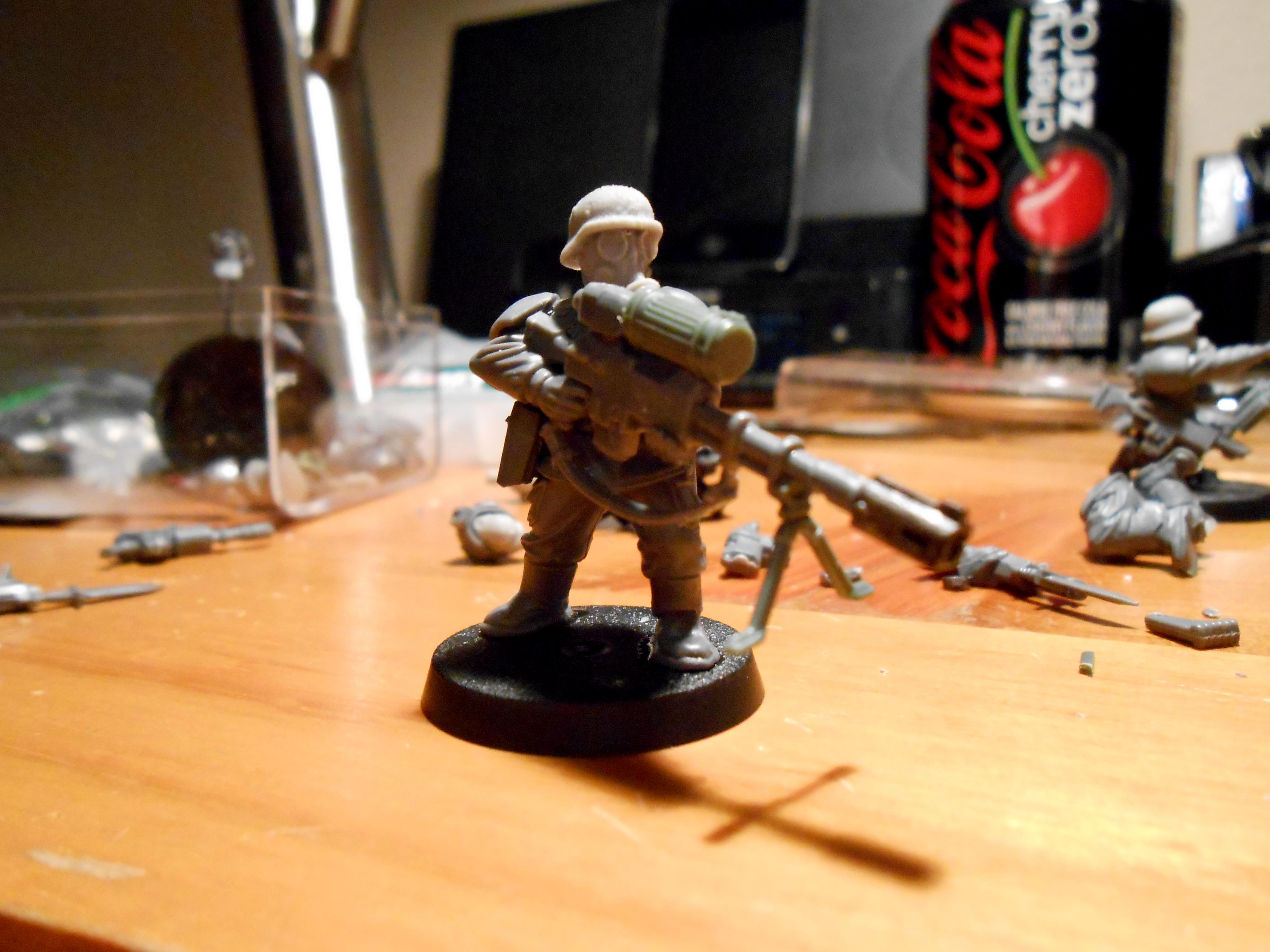 Gas Mask, Imperial Guard, Snipers