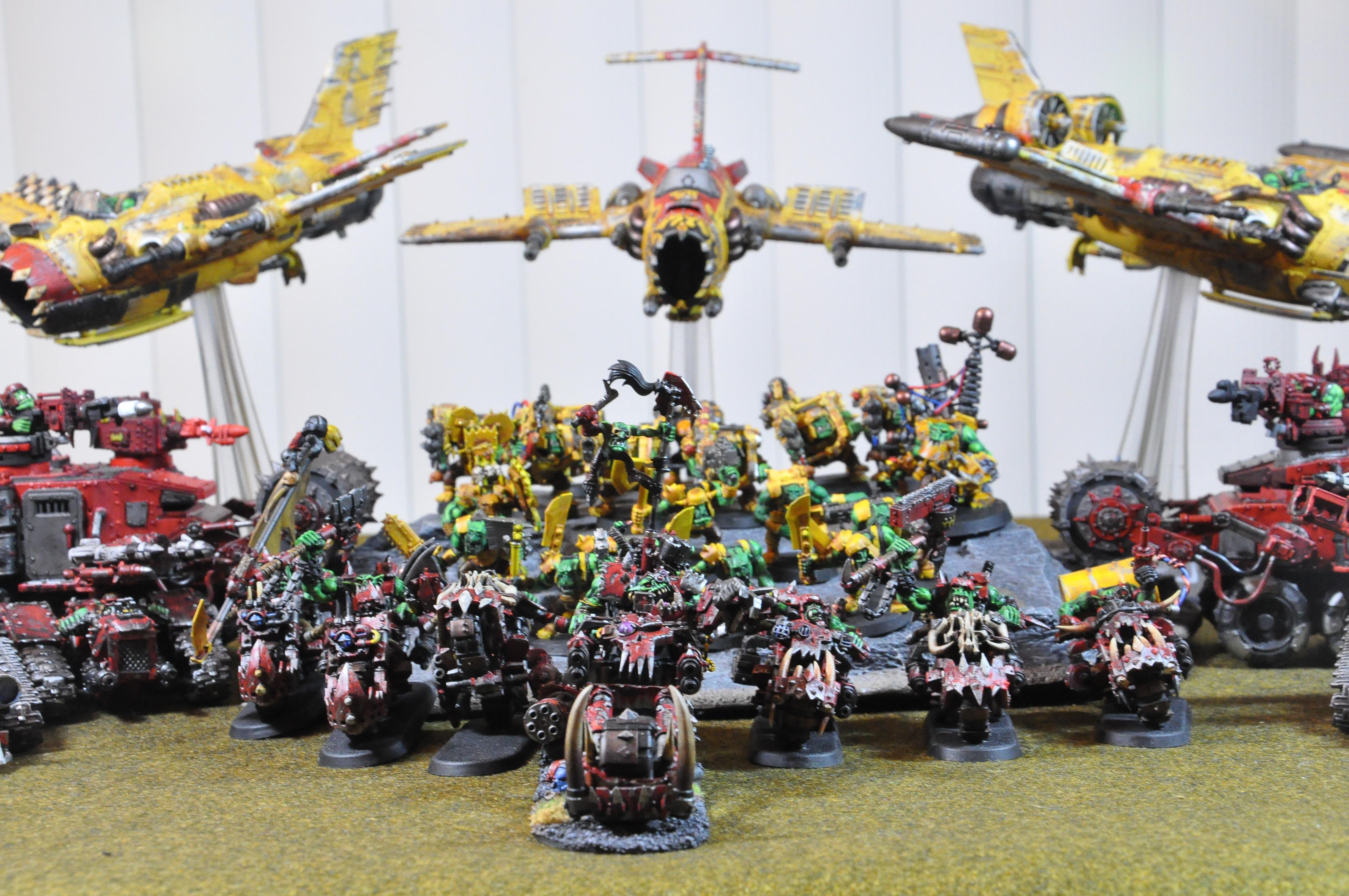 Army, Ork Army, Orks, Warhammer 40,000