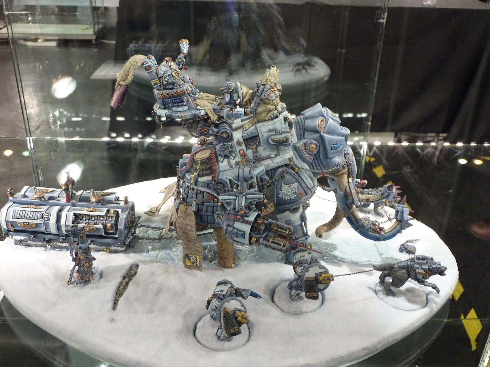 Cyborg, Land Raider, Mammoth, Space Wolves, Wolf