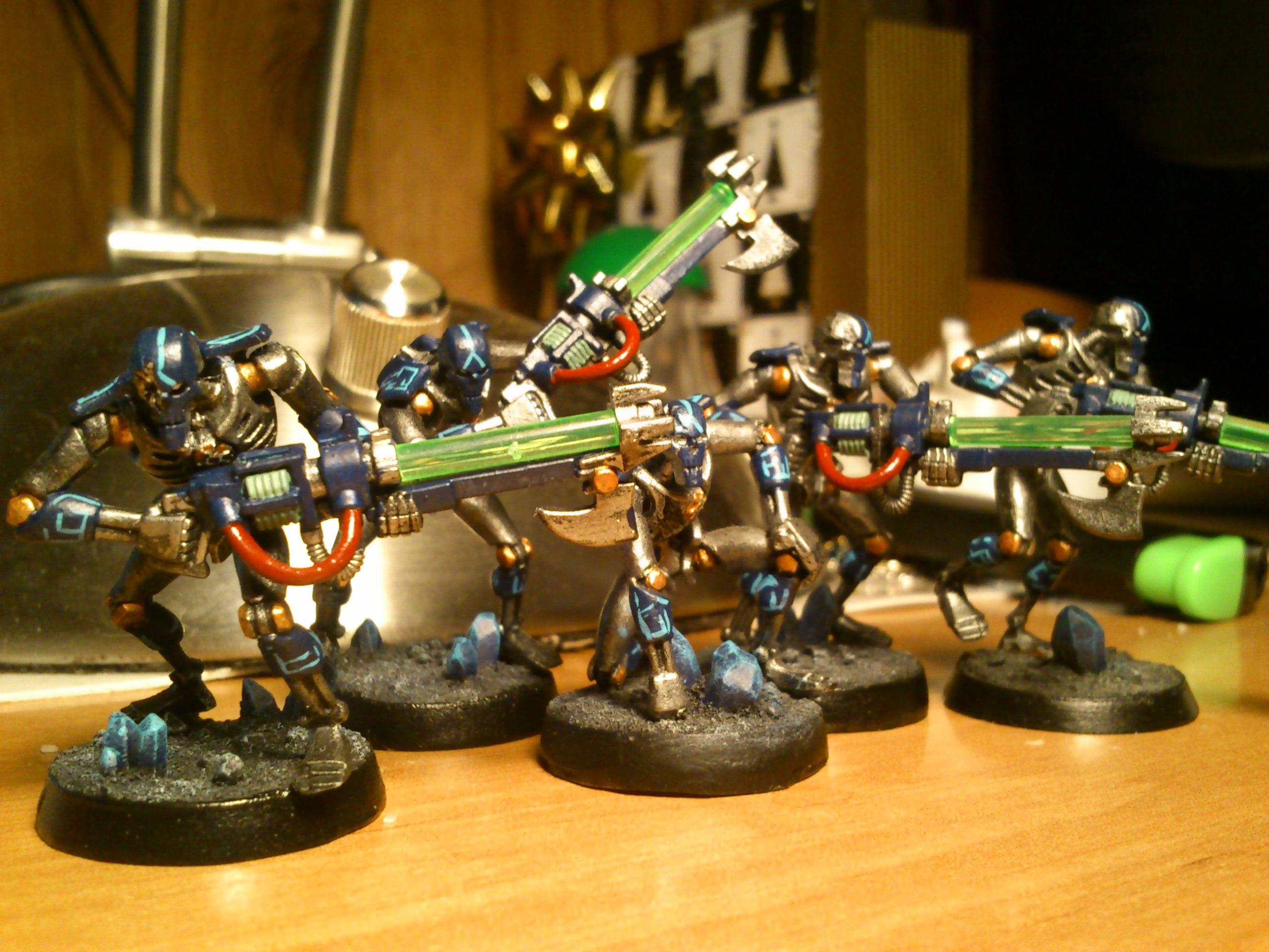 Necrons, warriors front