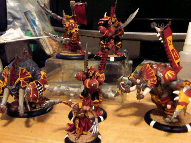 Bronzeback Titan, Cyclops, Hordes, Infantry, Molik Karn, Morghoul, Privateer Press, Skorne, Titan, Warbeast, Warmachine