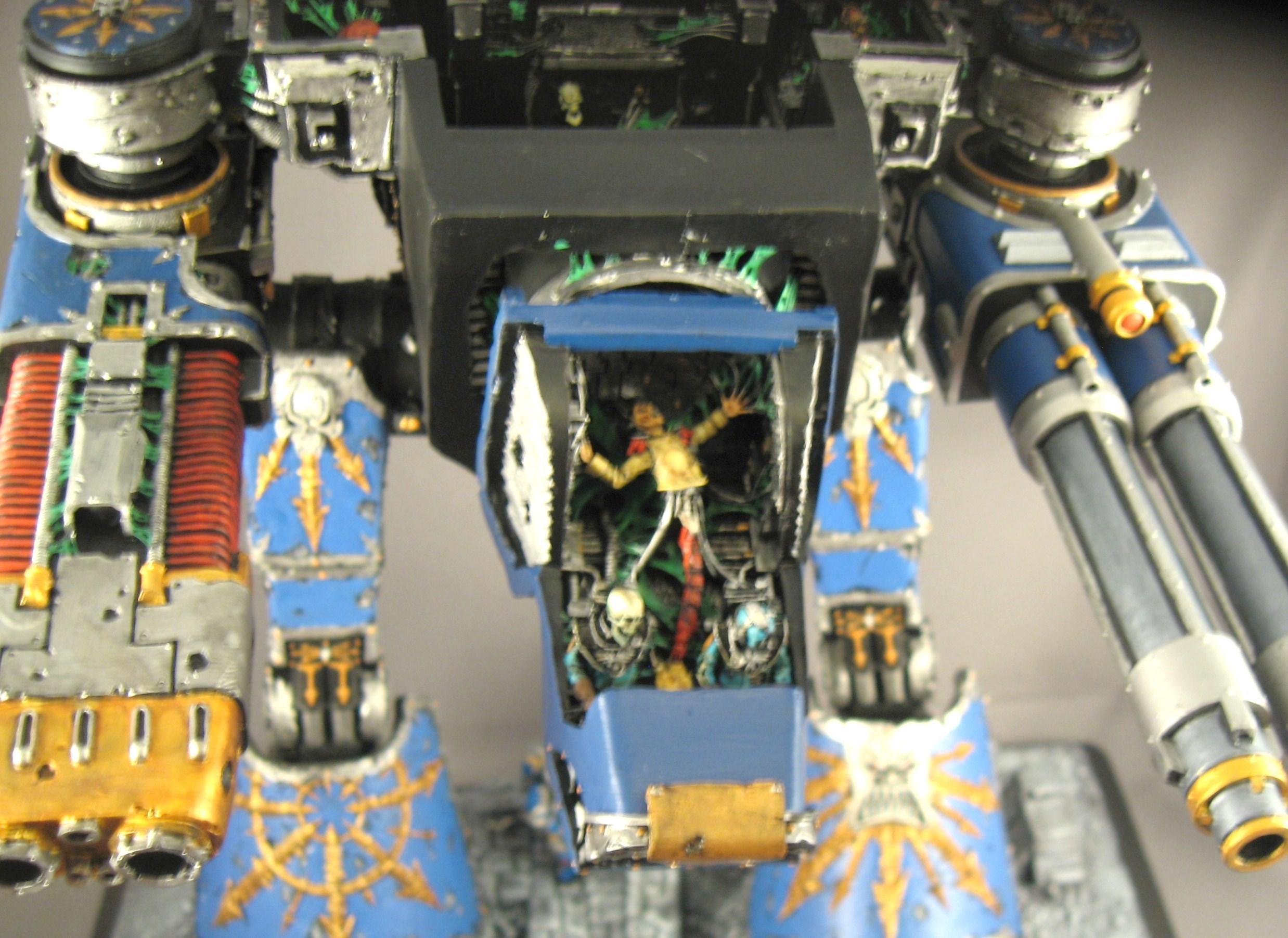 Chaos, Chaos Titan, Disciples Of Horus, Titan, Warhound