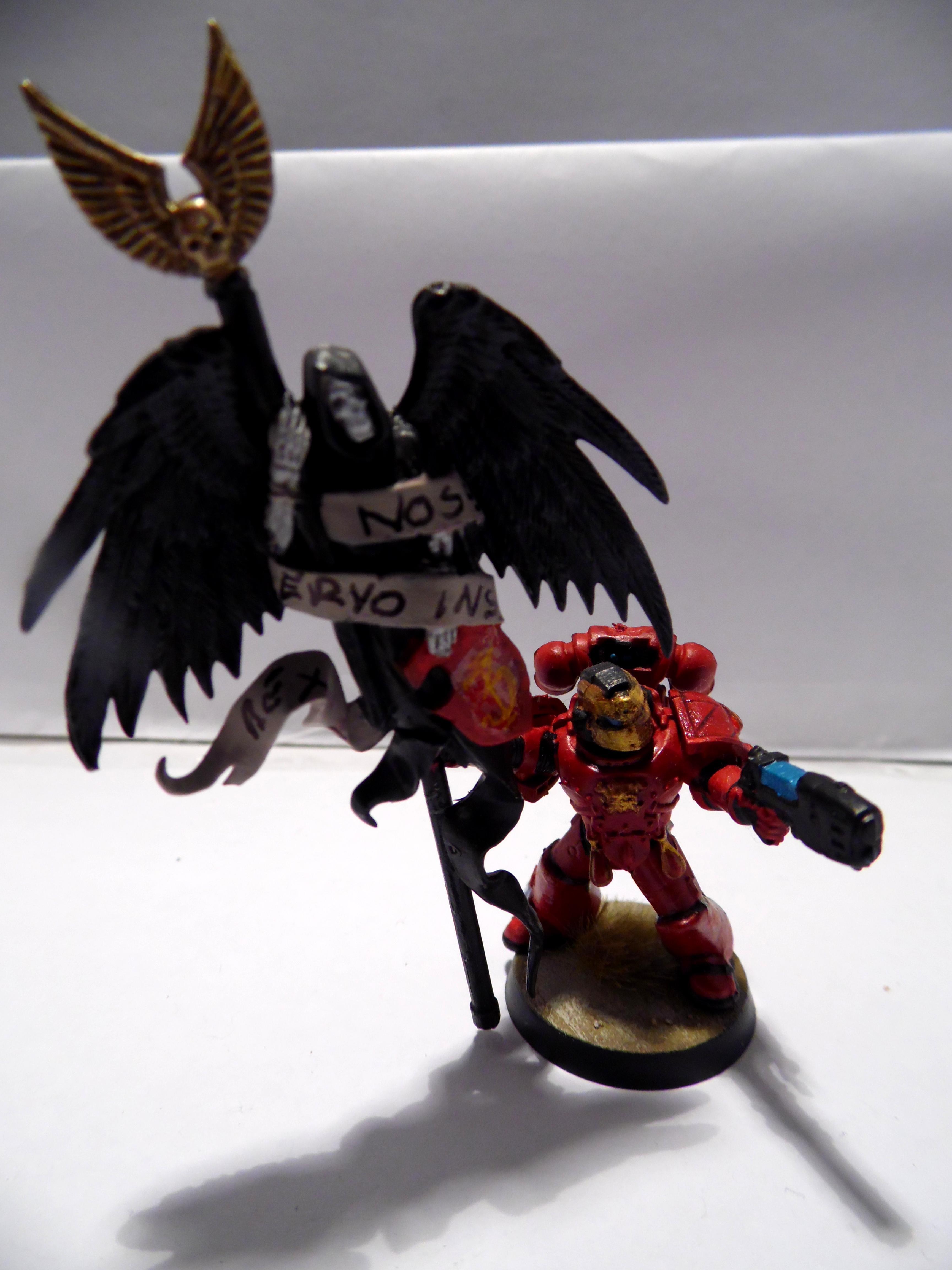 In Death We Serve, Blood angel standard