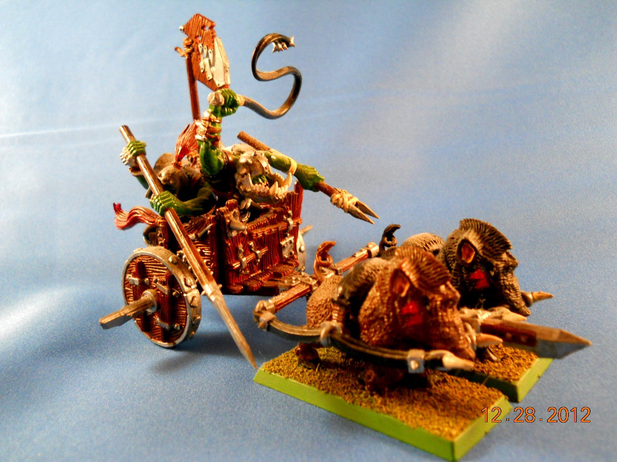 Warhammer Fantasy, Orc Chariot (Pic 3)